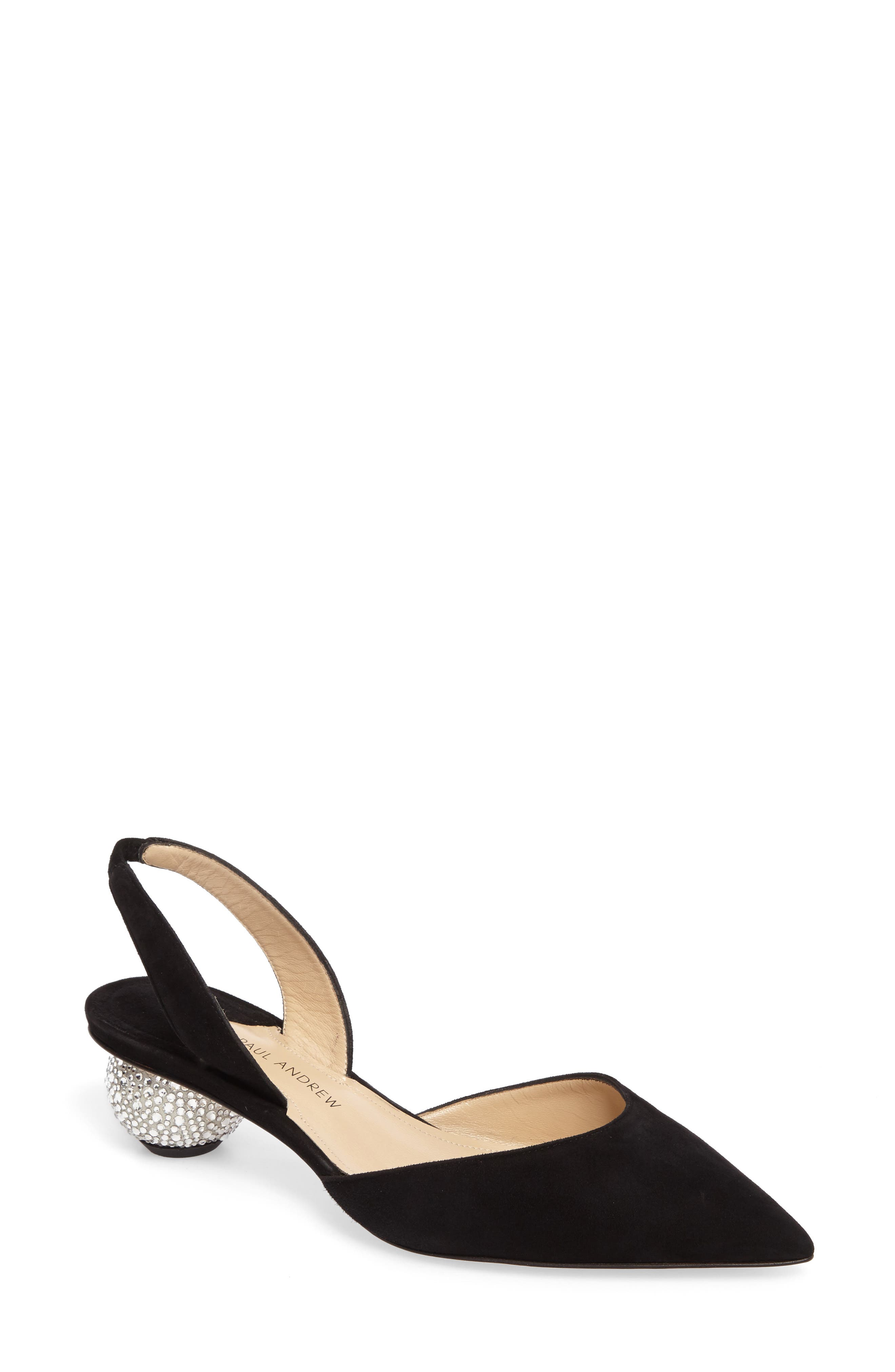 Paul Andrew Rhea Pointy Toe Pump (Women)