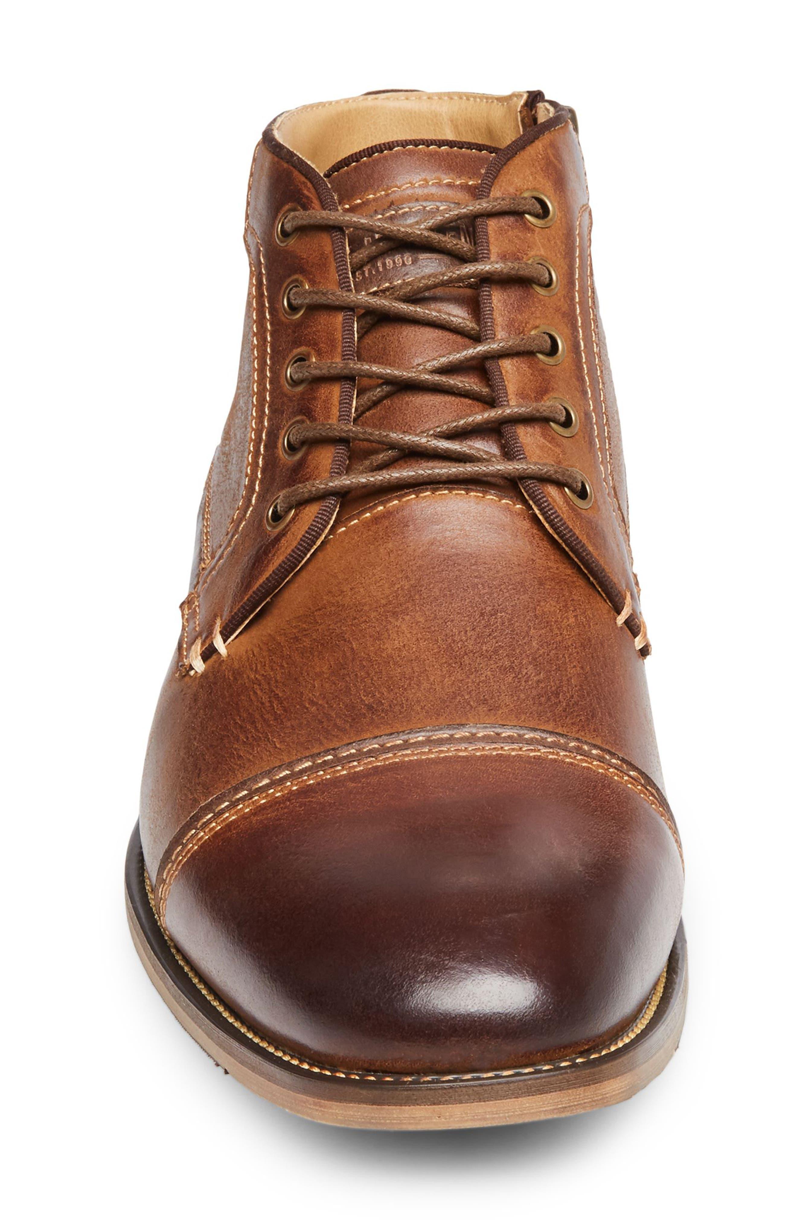 Alternate Image 4  - Steve Madden Joyce Cap Toe Boot (Men)