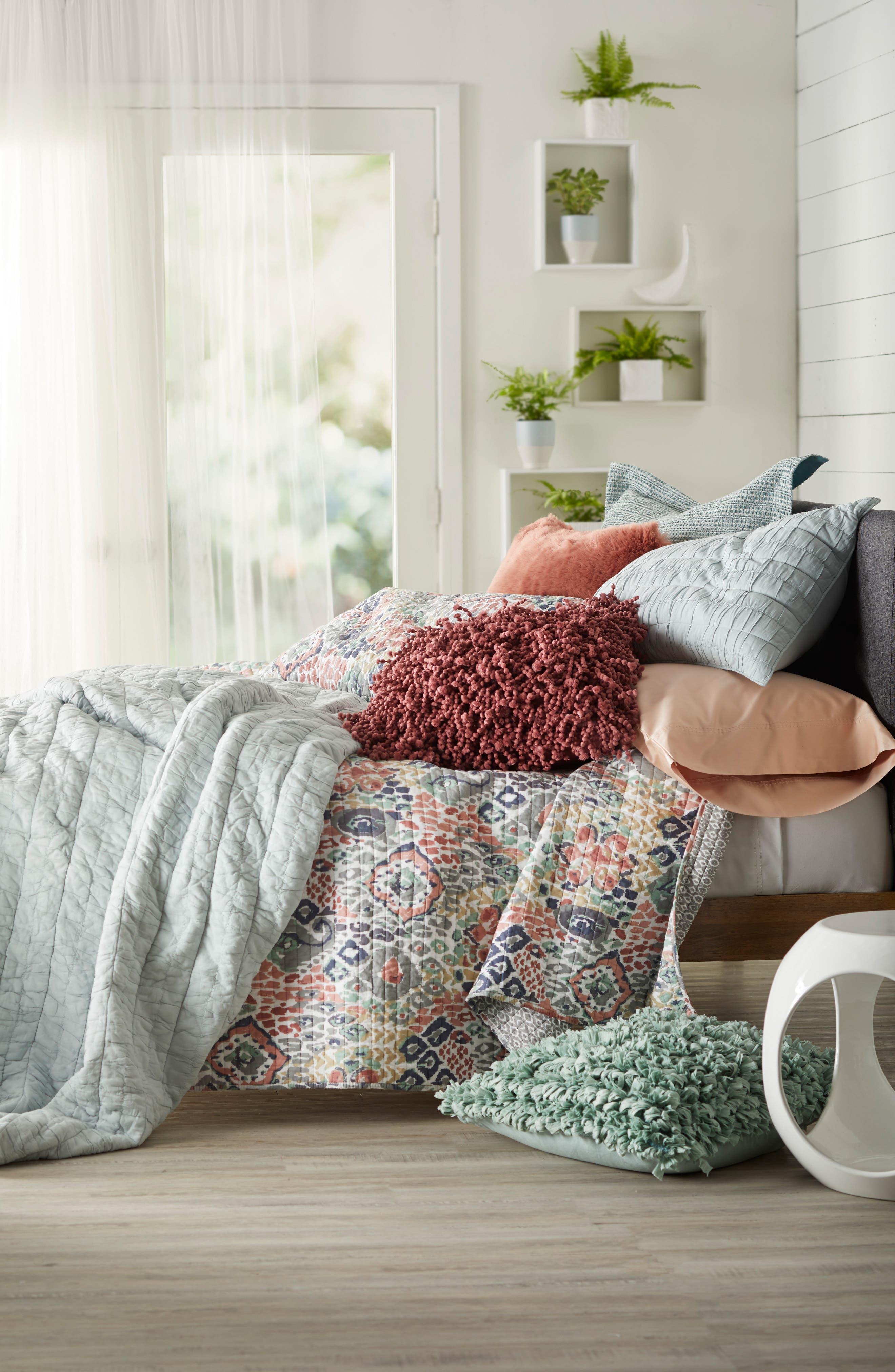 400 Thread Count Organic Cotton Pillowcases,                             Alternate thumbnail 3, color,                             Pink Hero