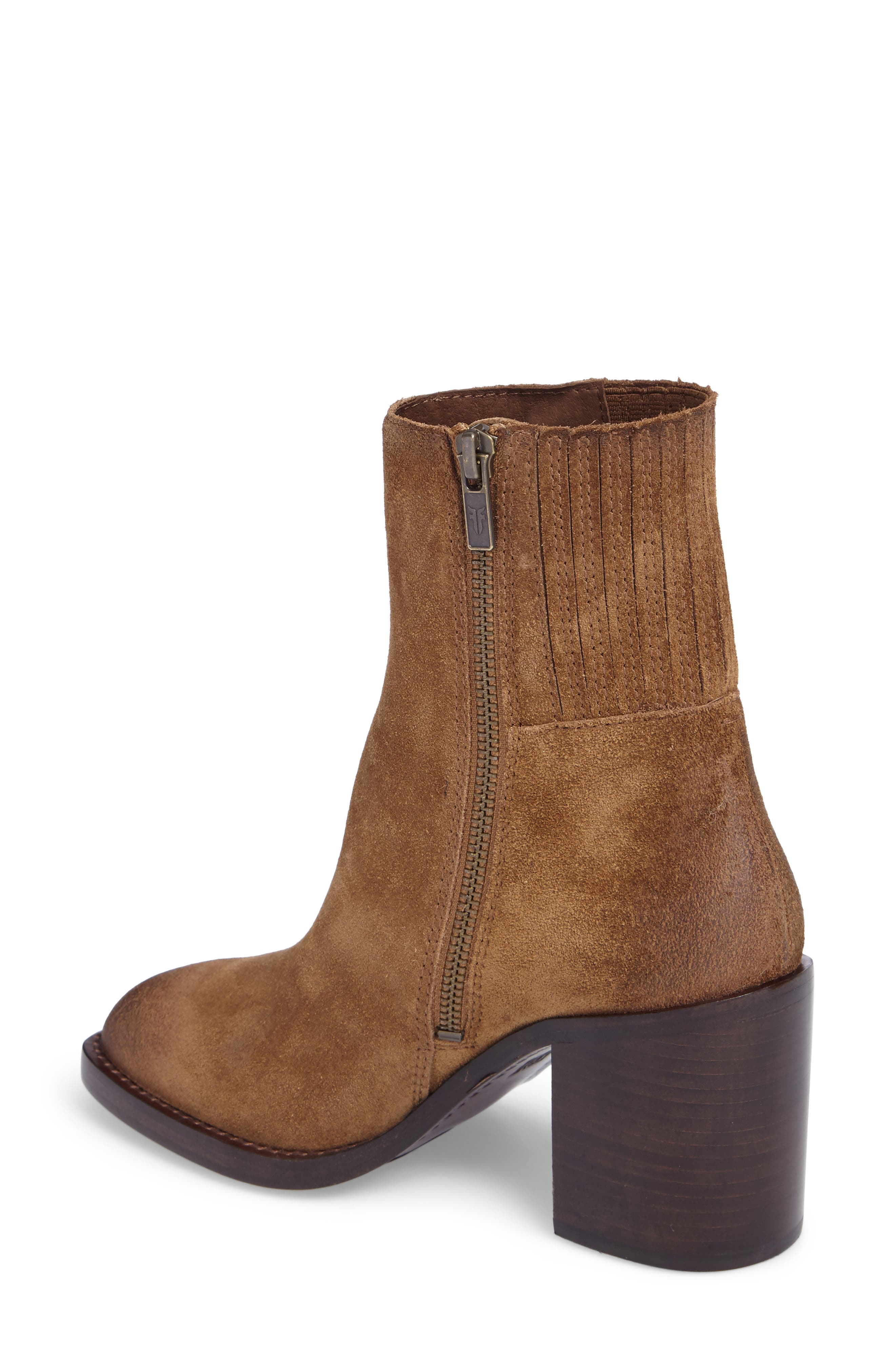 Pia Boot,                             Alternate thumbnail 2, color,                             Chestnut Suede