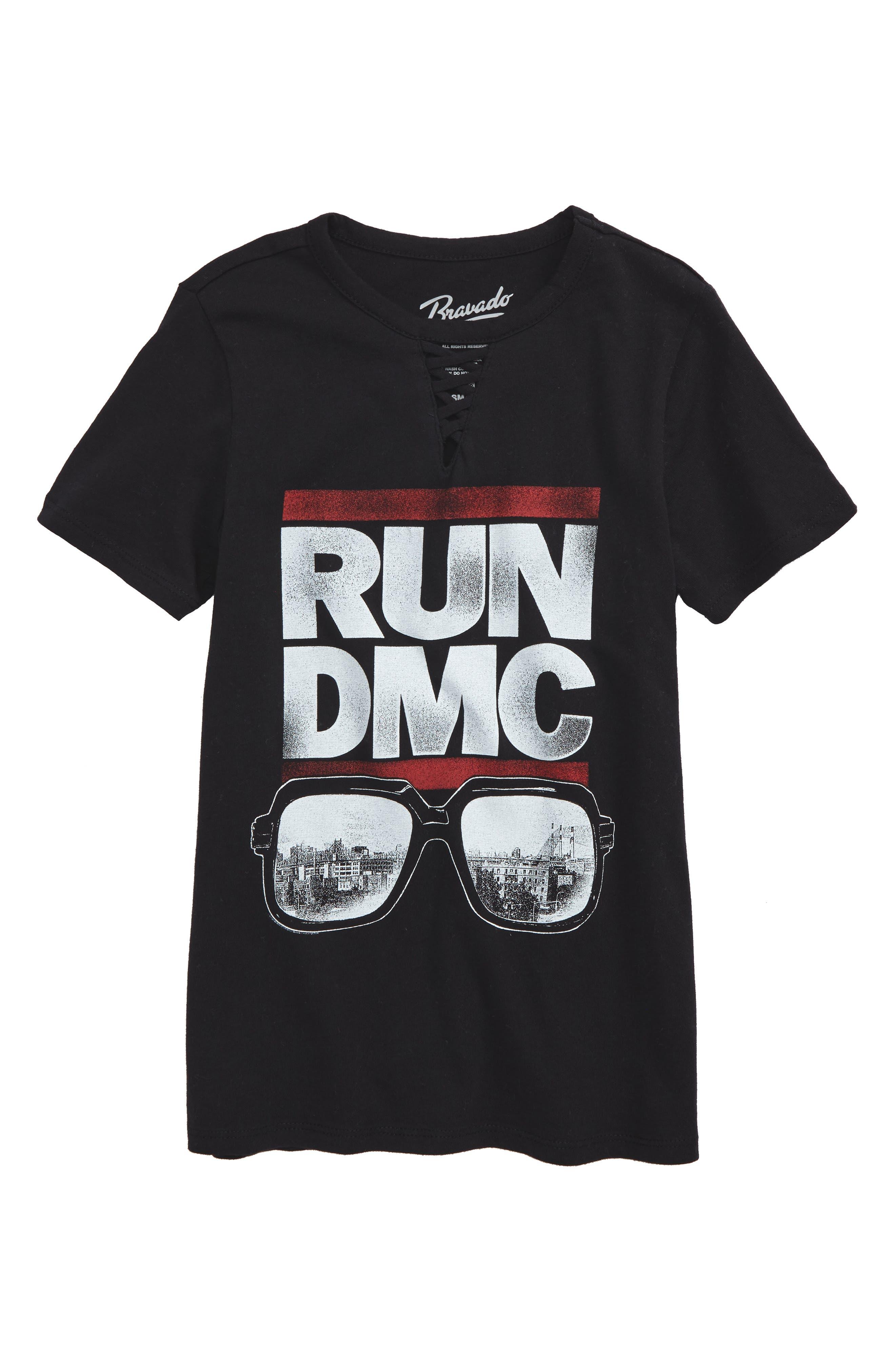 Bravado Run DMC Logo Graphic Tee (Big Girls)