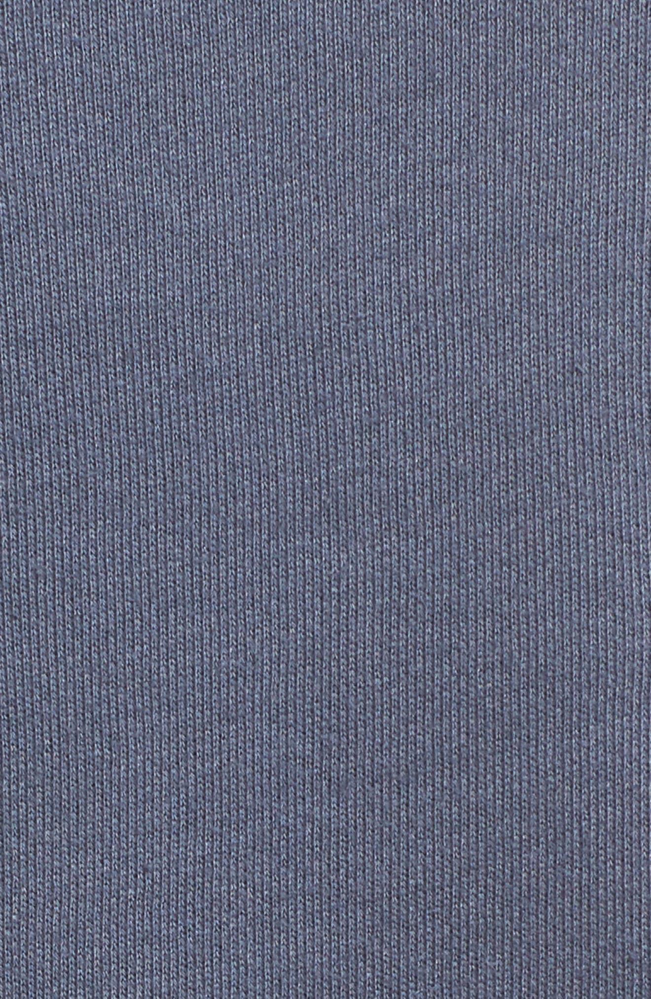 Corset Sweatshirt,                             Alternate thumbnail 5, color,                             Steel