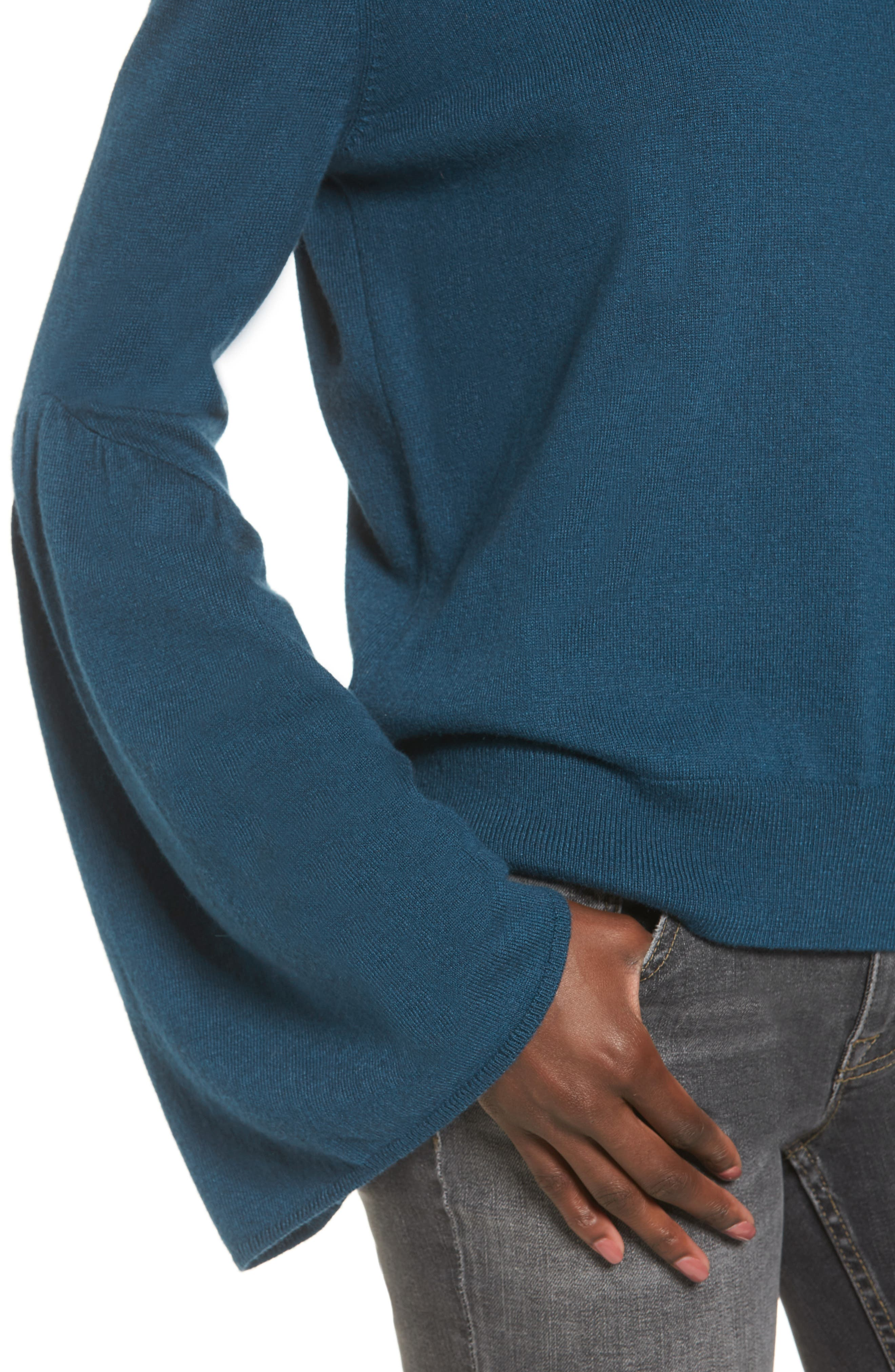 Alternate Image 4  - Leith Bell Sleeve Sweater