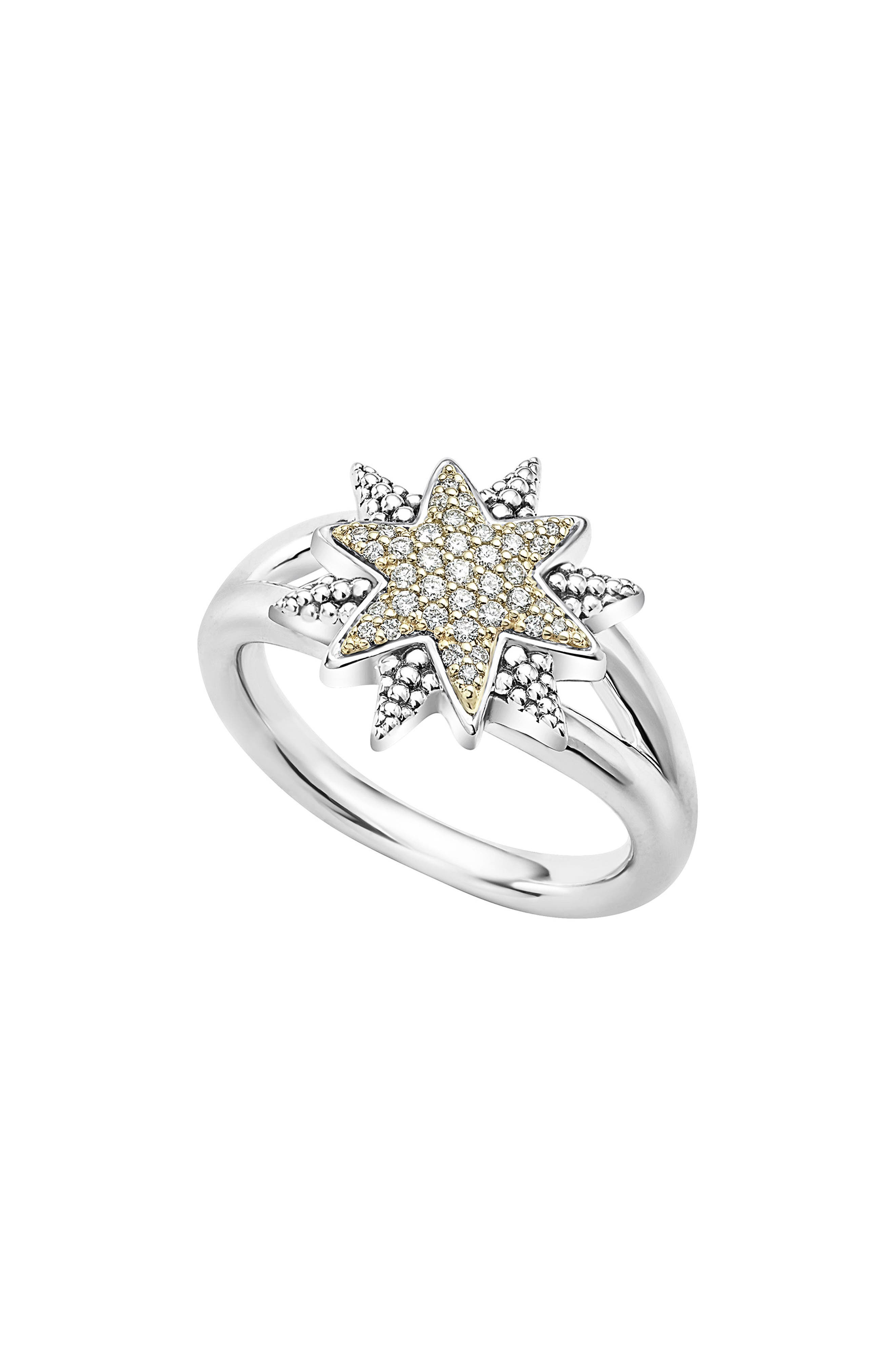 North Star Ring,                         Main,                         color, Diamond