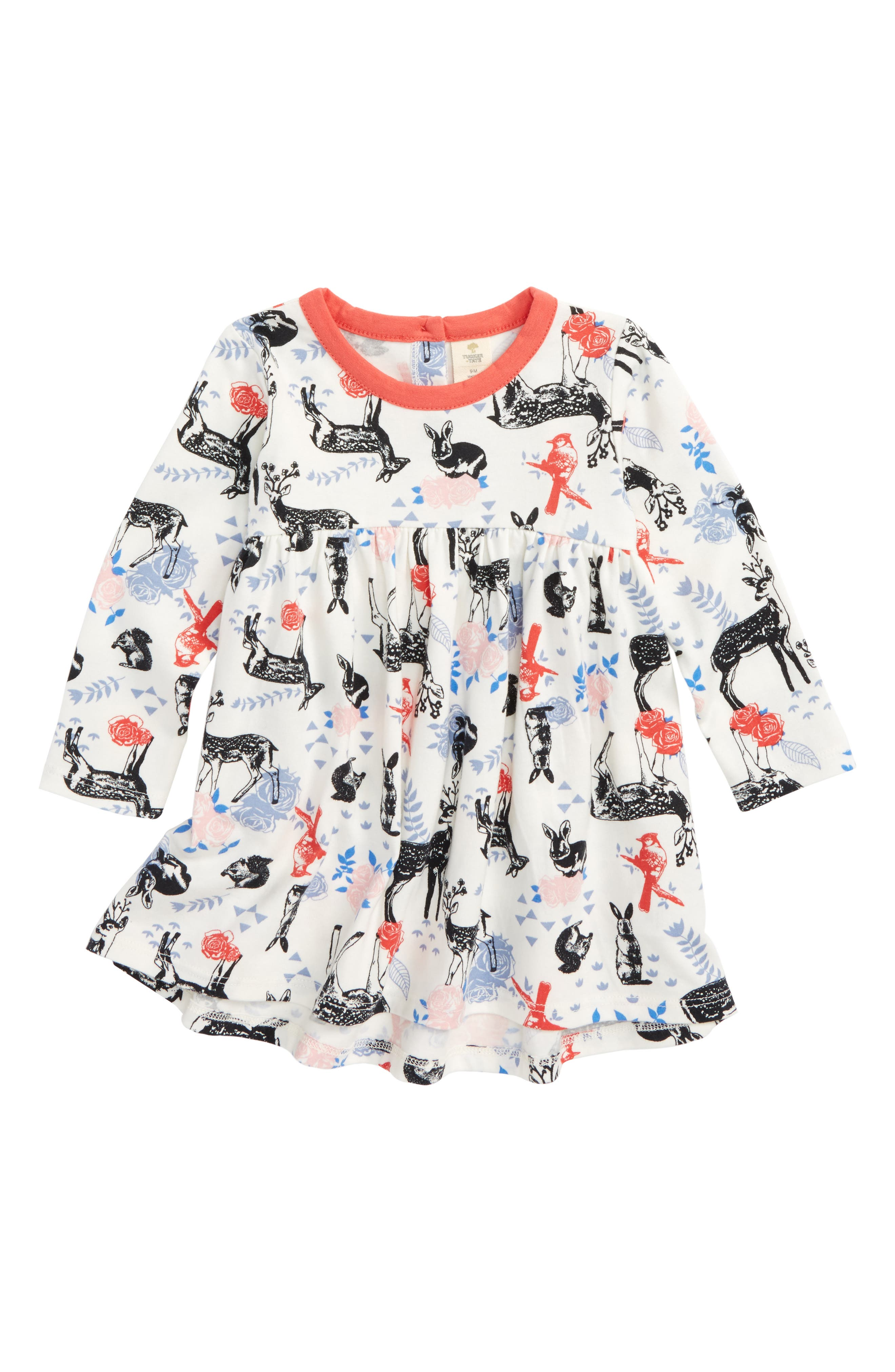 Tucker + Tate Floral High/Low Dress (Baby Girls)