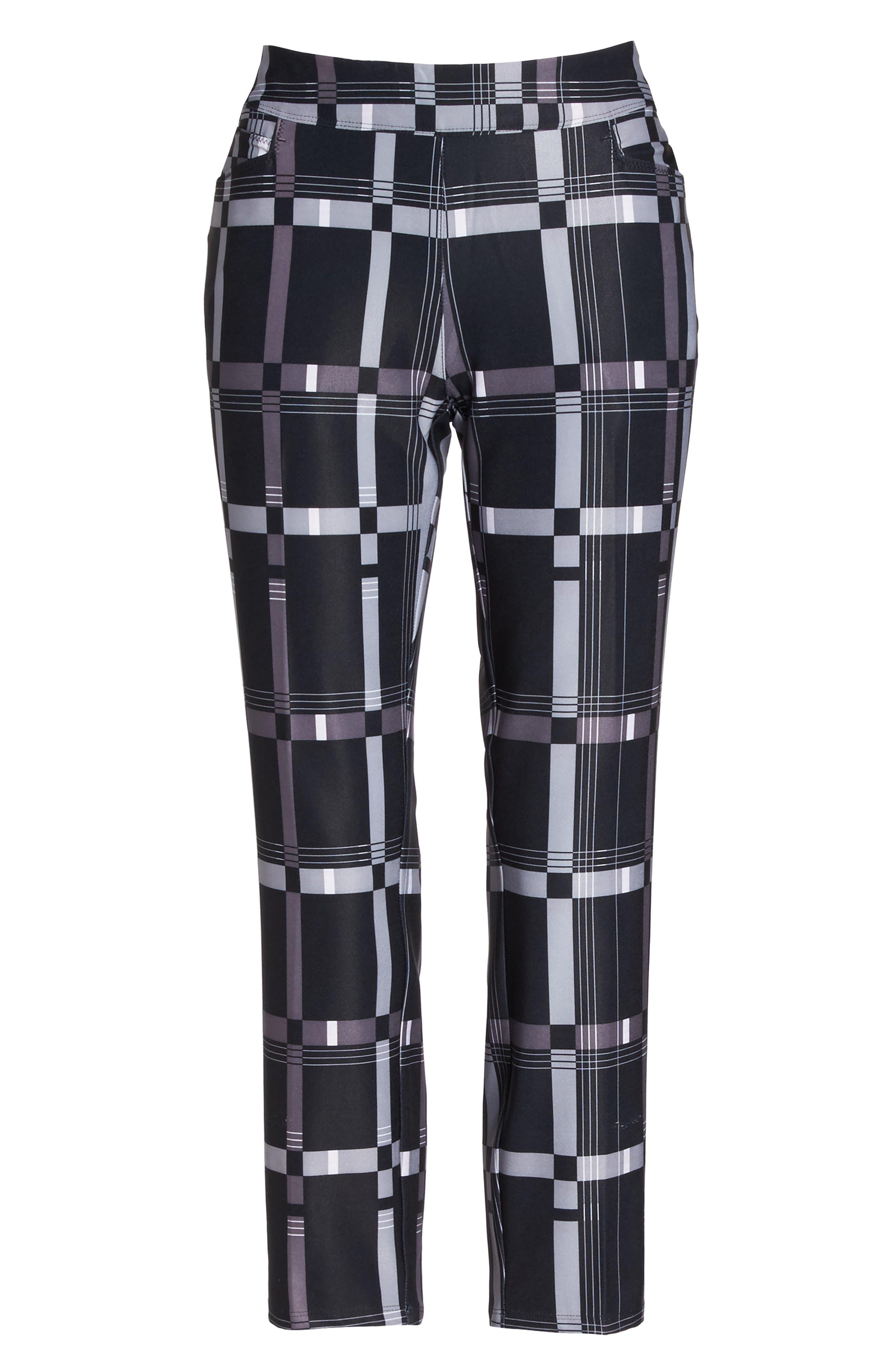 adistar Ankle Pants,                             Alternate thumbnail 7, color,                             Black