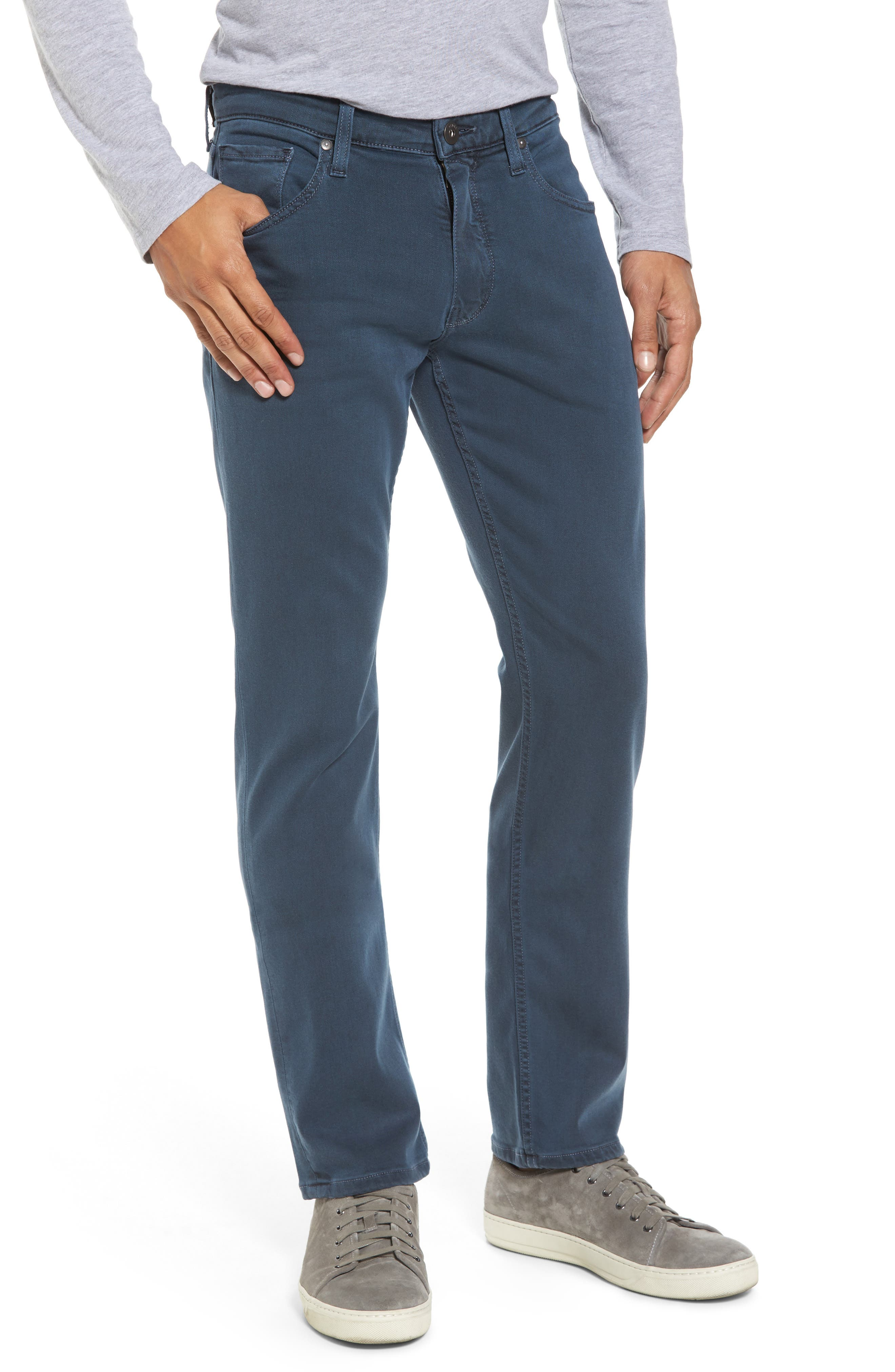 Alternate Image 1 Selected - PAIGE Transcend - Federal Slim Straight Fit Jeans (Vintage Amalfi)