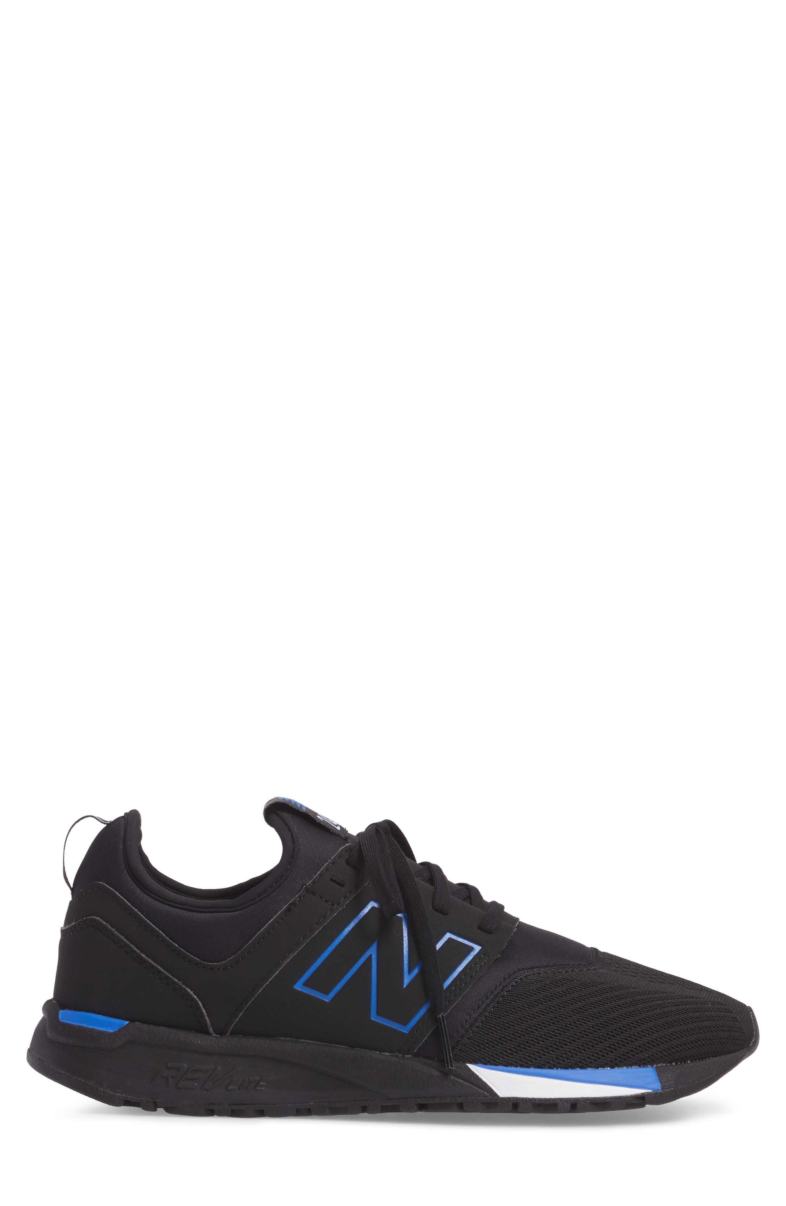247 Sneaker,                             Alternate thumbnail 3, color,                             Black