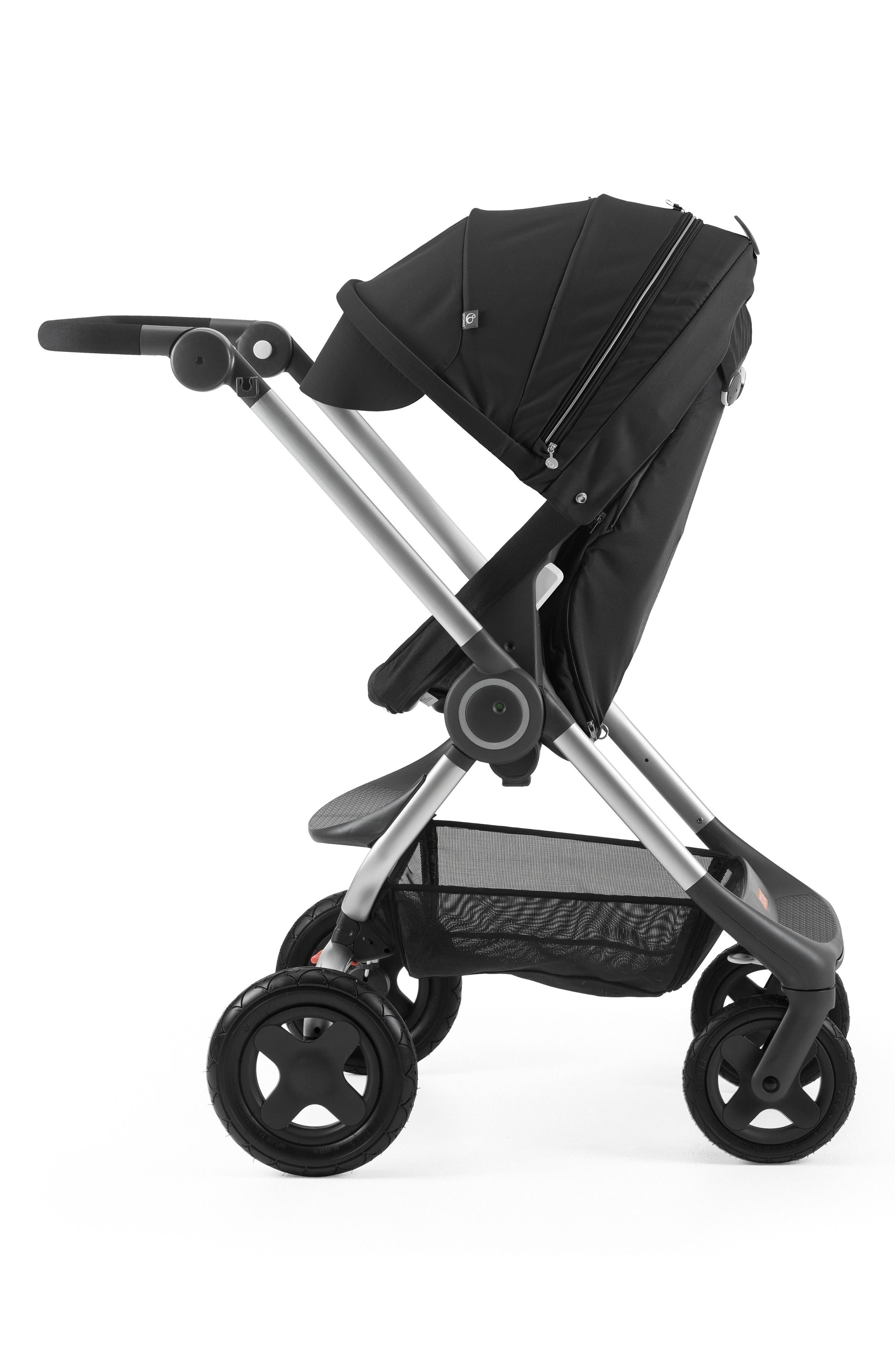 Scoot<sup>™</sup> Complete Stroller,                             Alternate thumbnail 6, color,                             Black