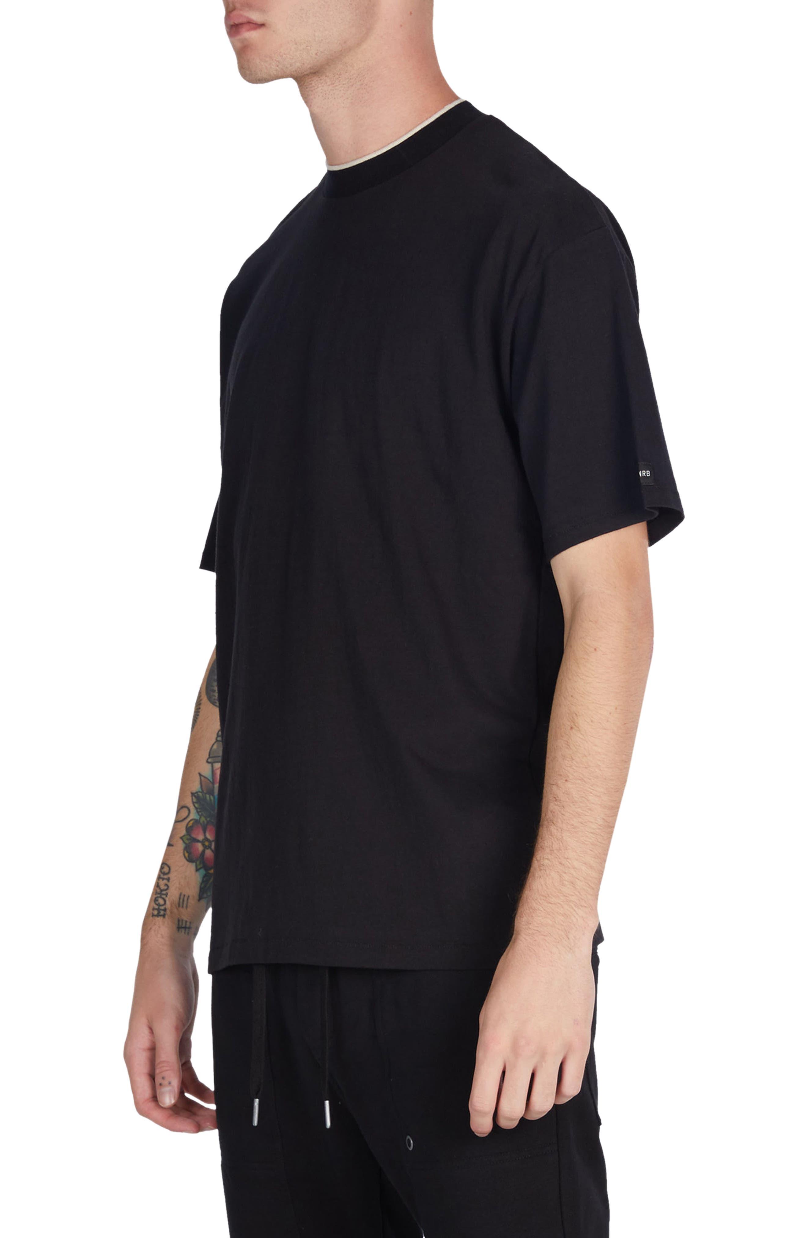Tip Box T-Shirt,                             Alternate thumbnail 4, color,                             Black