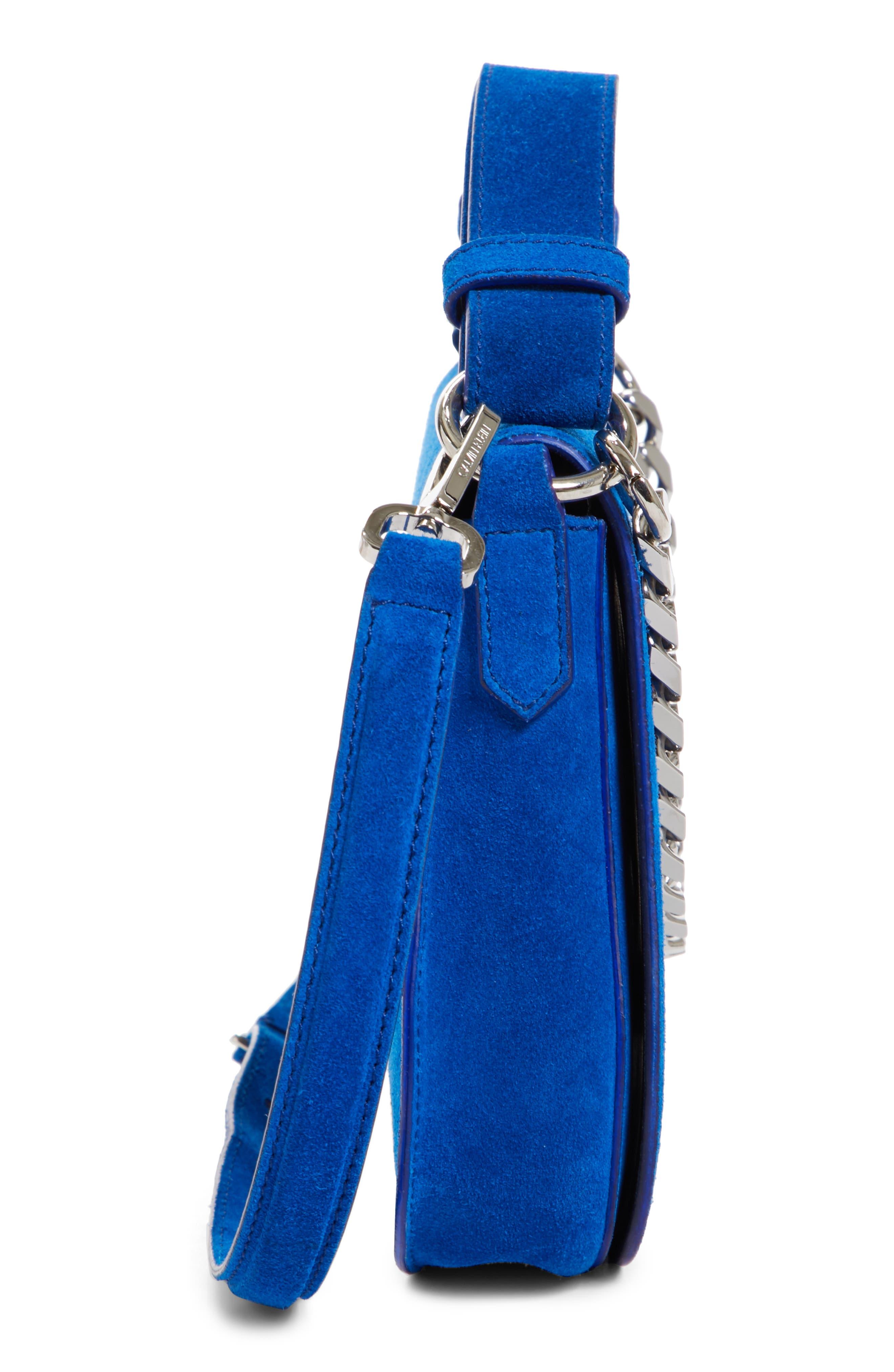 Alternate Image 5  - CALVIN KLEIN 205W39NYC Small Suede Shoulder Bag