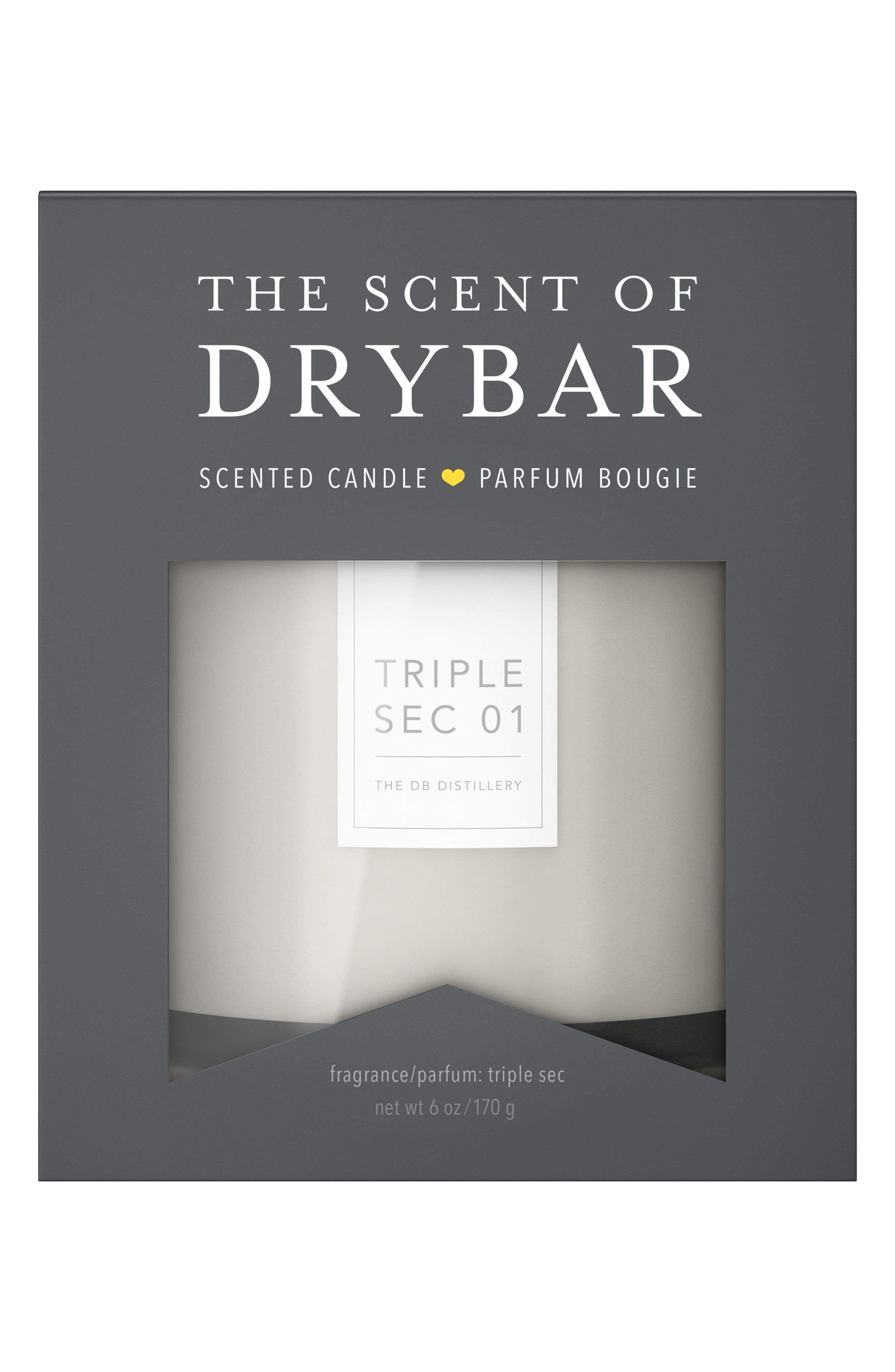 The Scent of Drybar Triple Sec 01 Candle,                             Alternate thumbnail 2, color,                             No Color