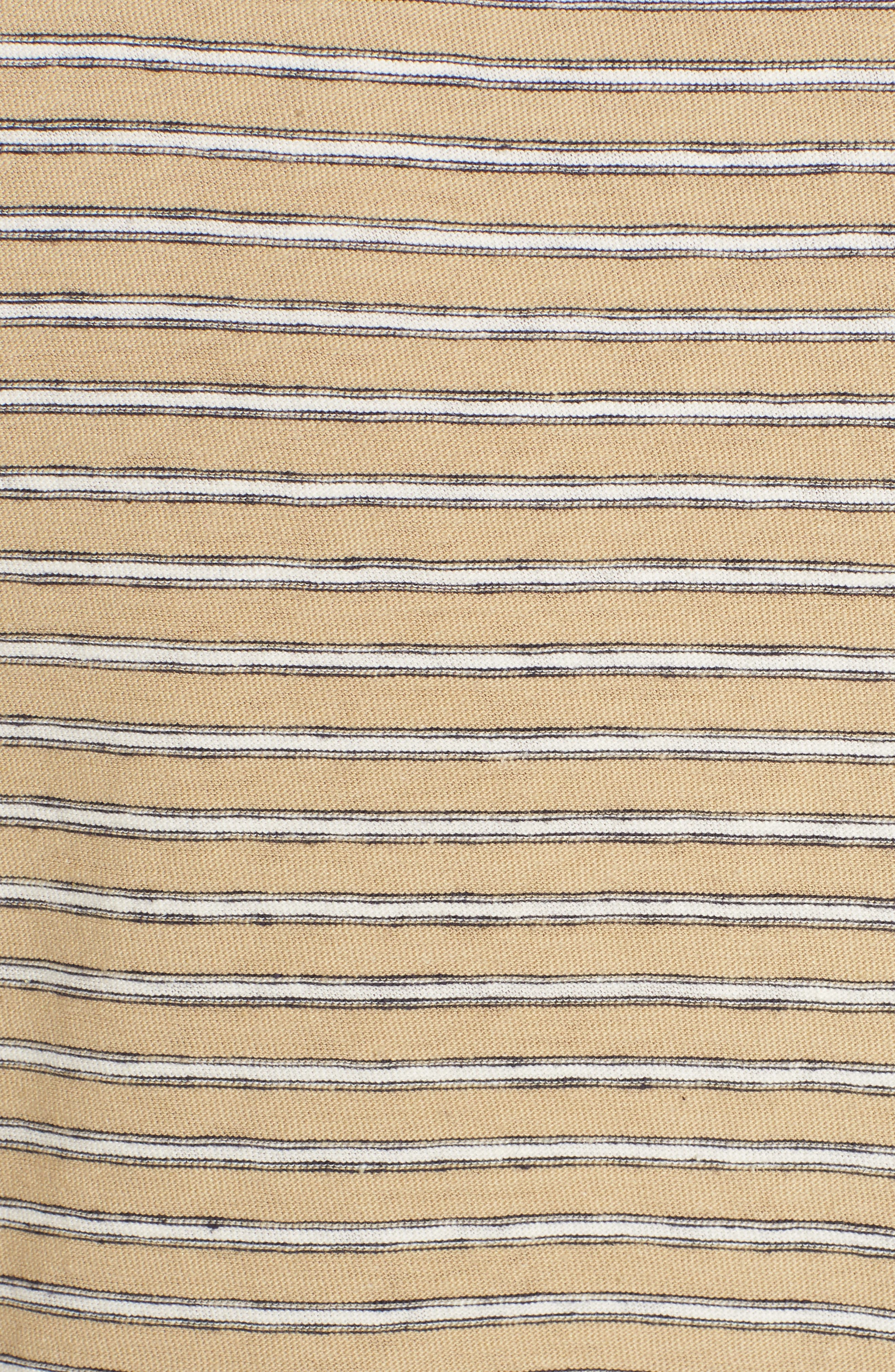 Alternate Image 5  - James Perse Mini Stripe Tee