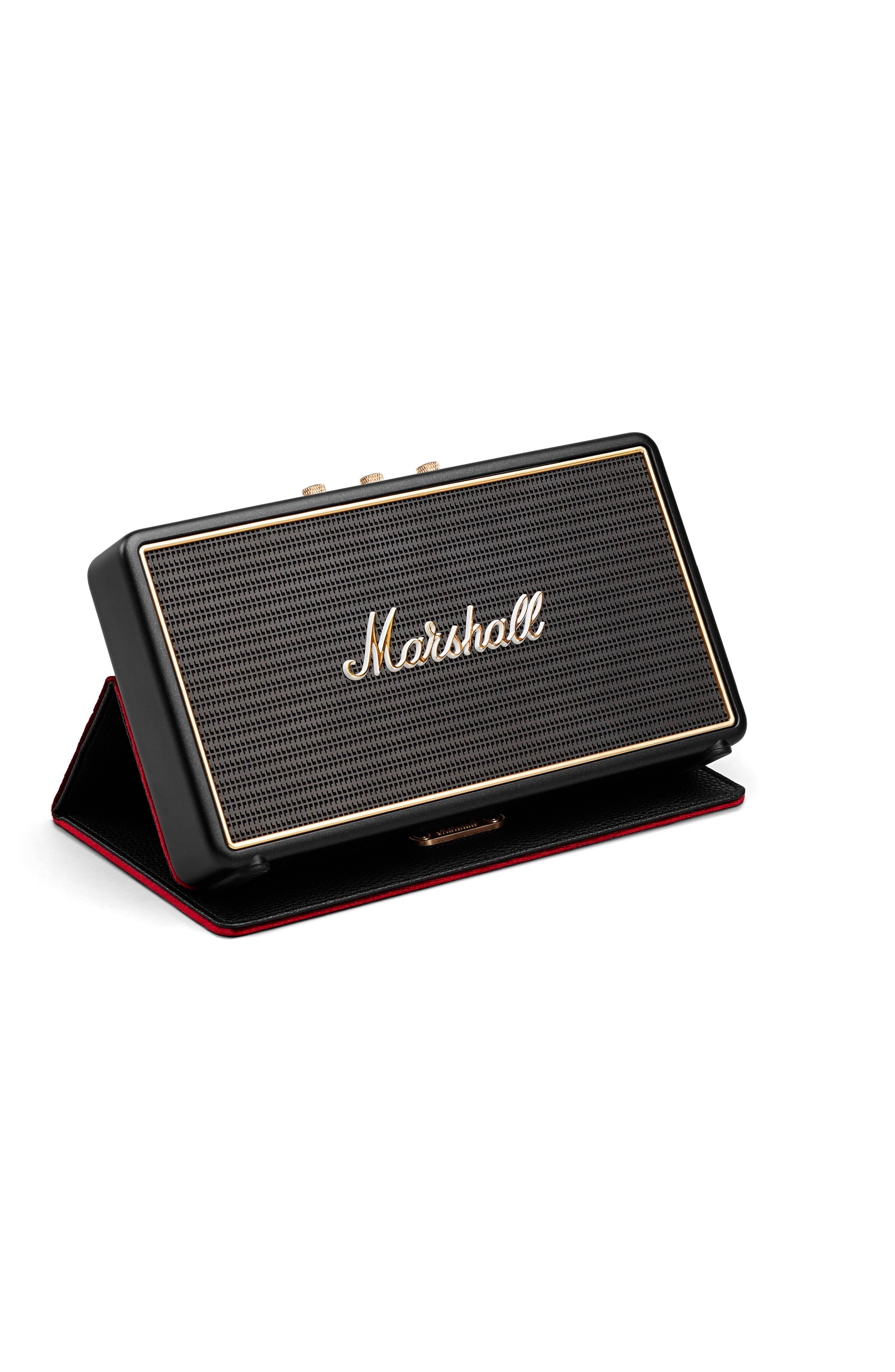 'Stockwell' Bluetooth<sup>®</sup> Speaker,                             Alternate thumbnail 4, color,                             Black