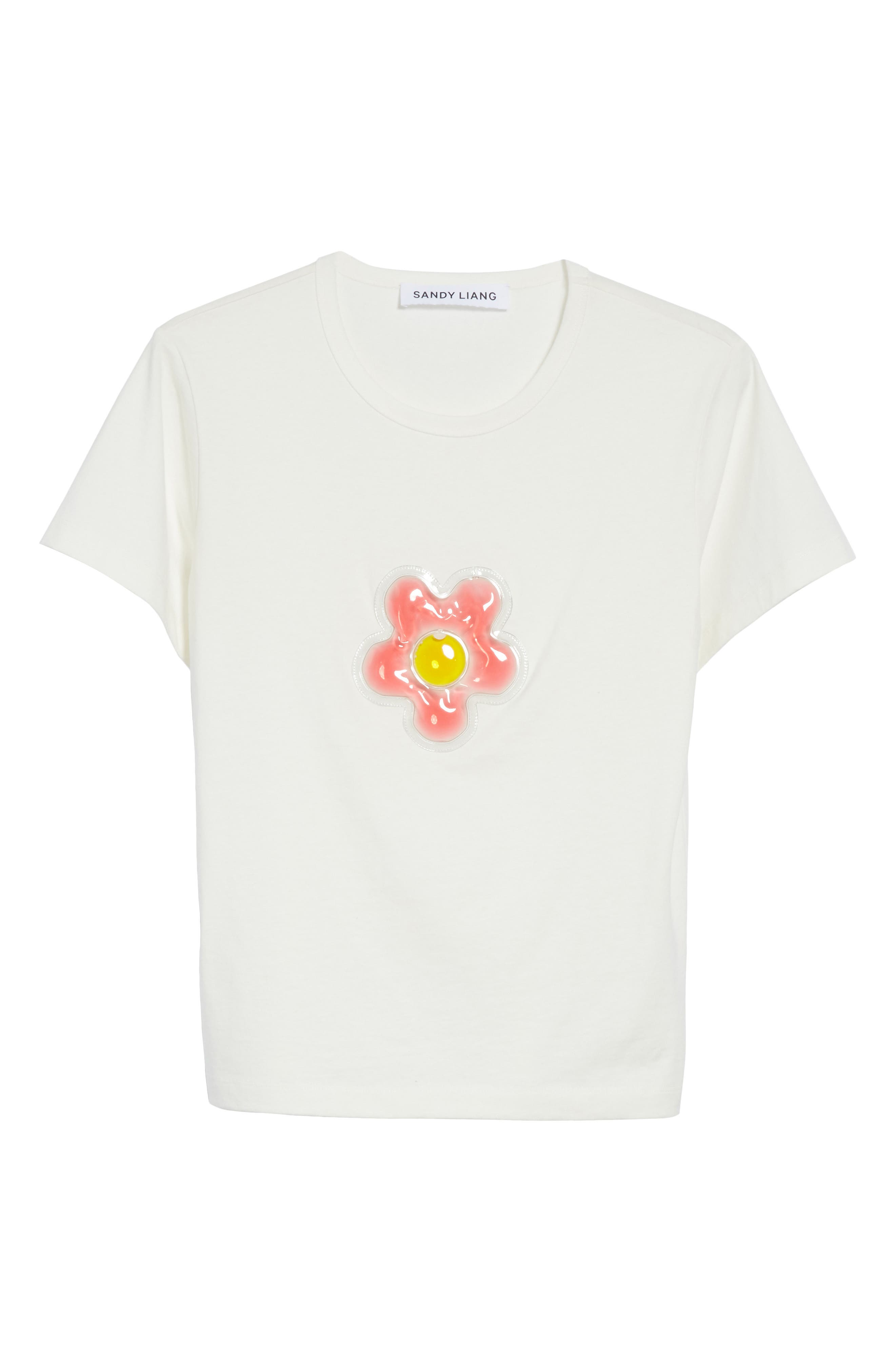 Alternate Image 6  - Sandy Liang Colby Flower Tee