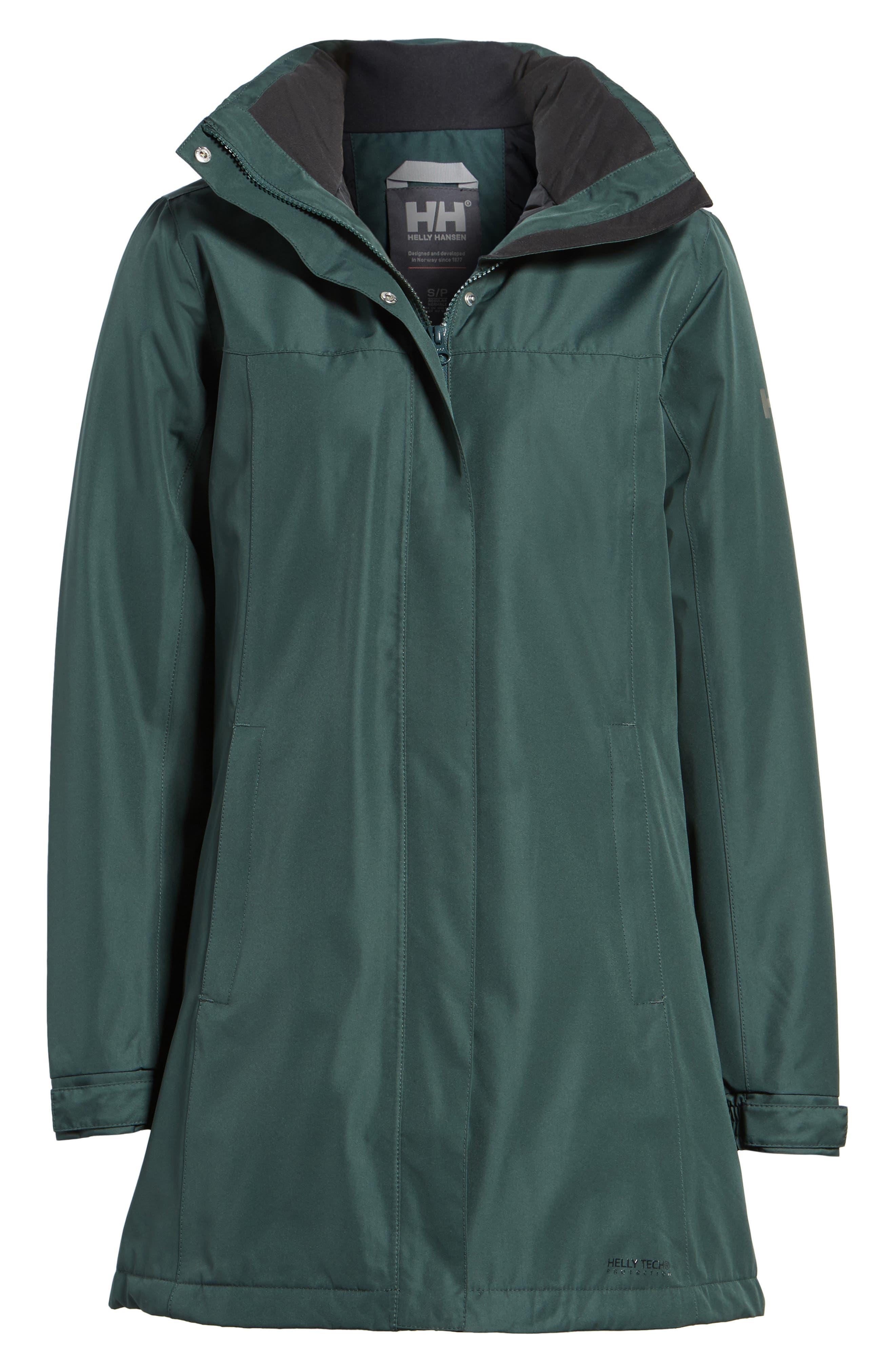Alternate Image 7  - Helly Hansen Aden Hooded Insulated Rain Jacket