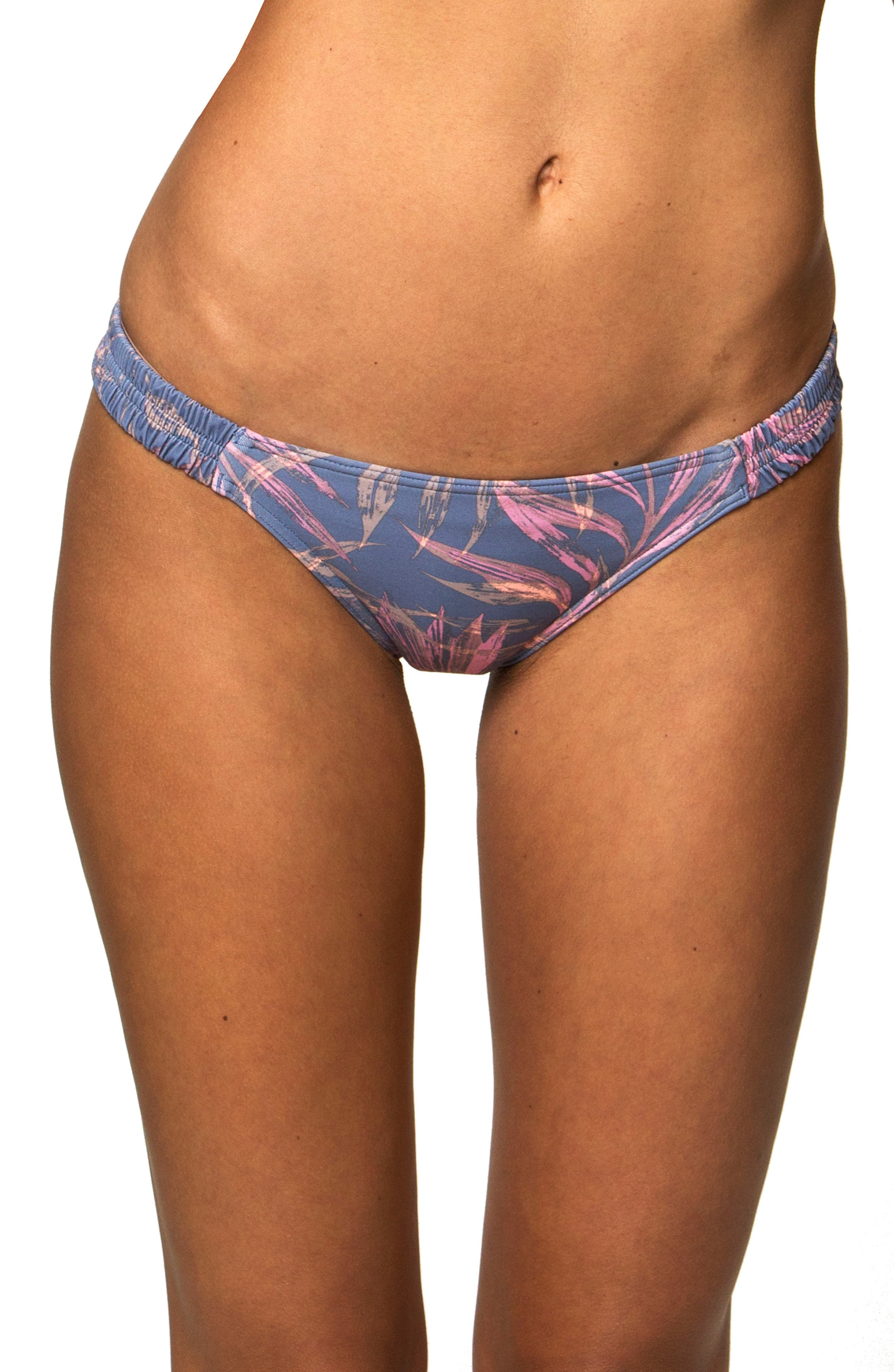 Faye Bikini Bottoms,                         Main,                         color, Mist - Fog