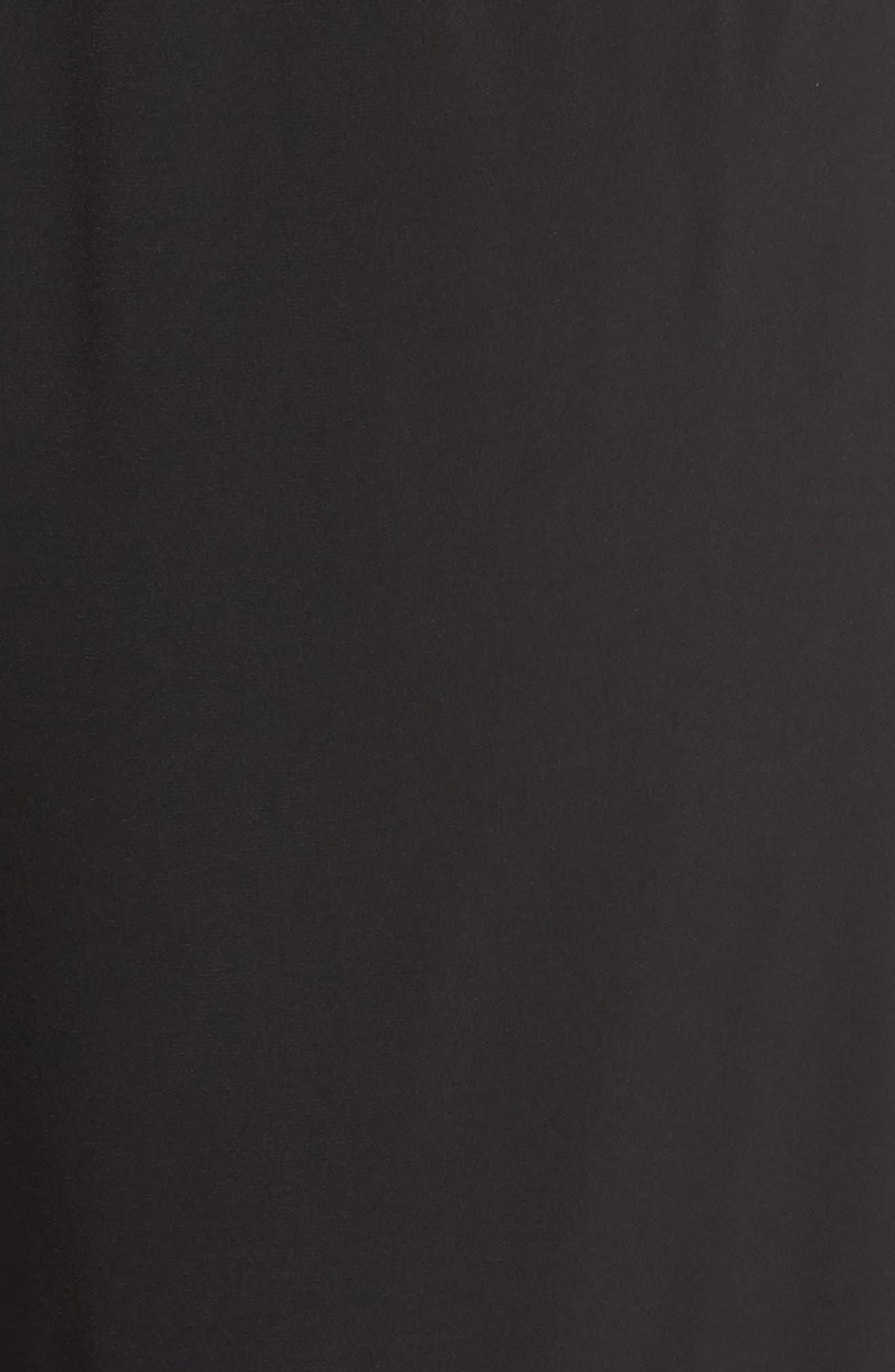 Lace Sleeve Jumpsuit,                             Alternate thumbnail 5, color,                             Black