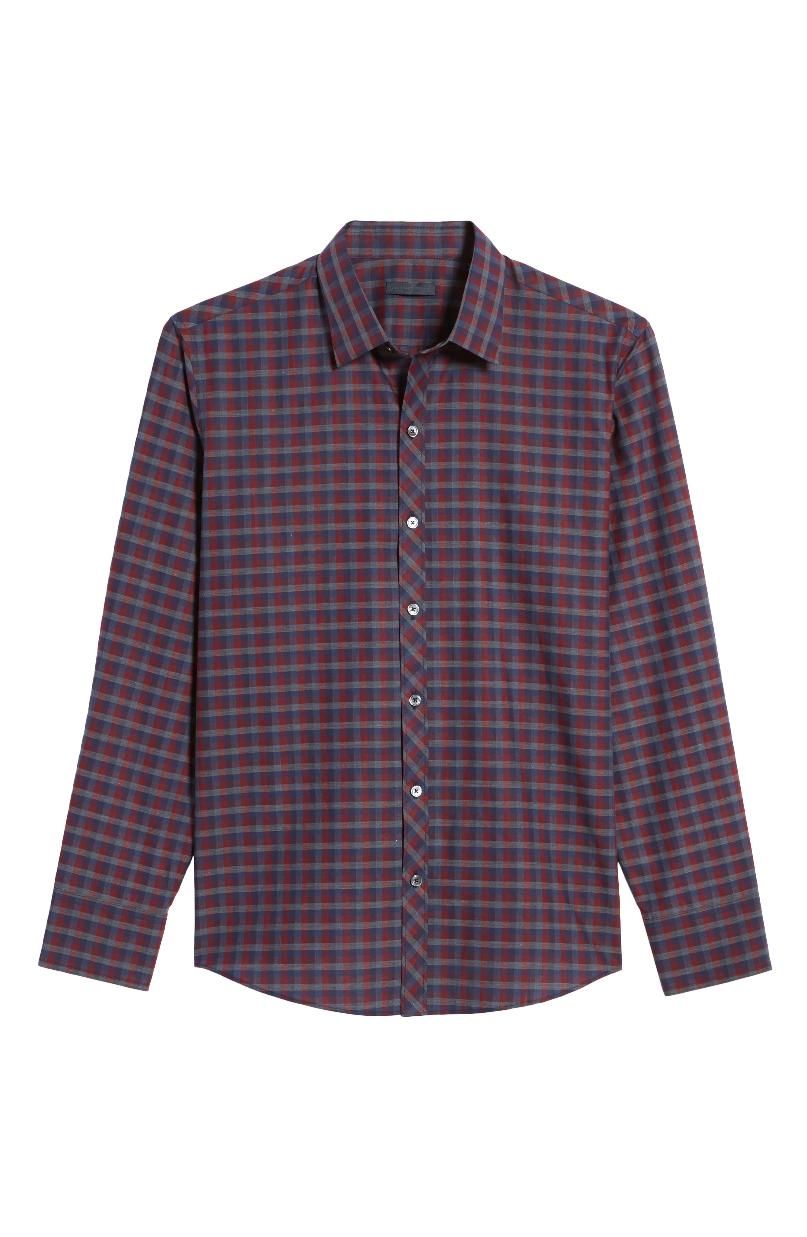 Alternate Image 6  - Zachary Prell Dane Check Sport Shirt