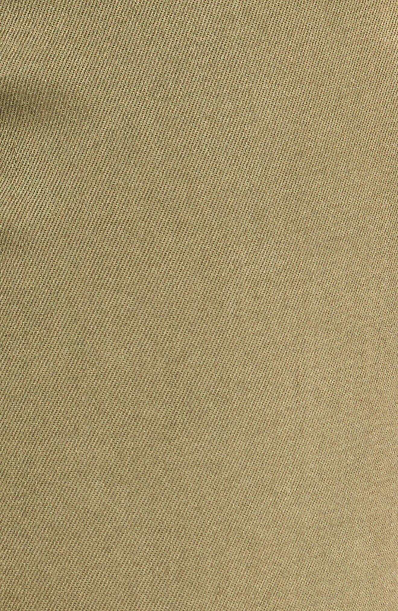 Skinny Cargo Pants,                             Alternate thumbnail 5, color,                             Olive