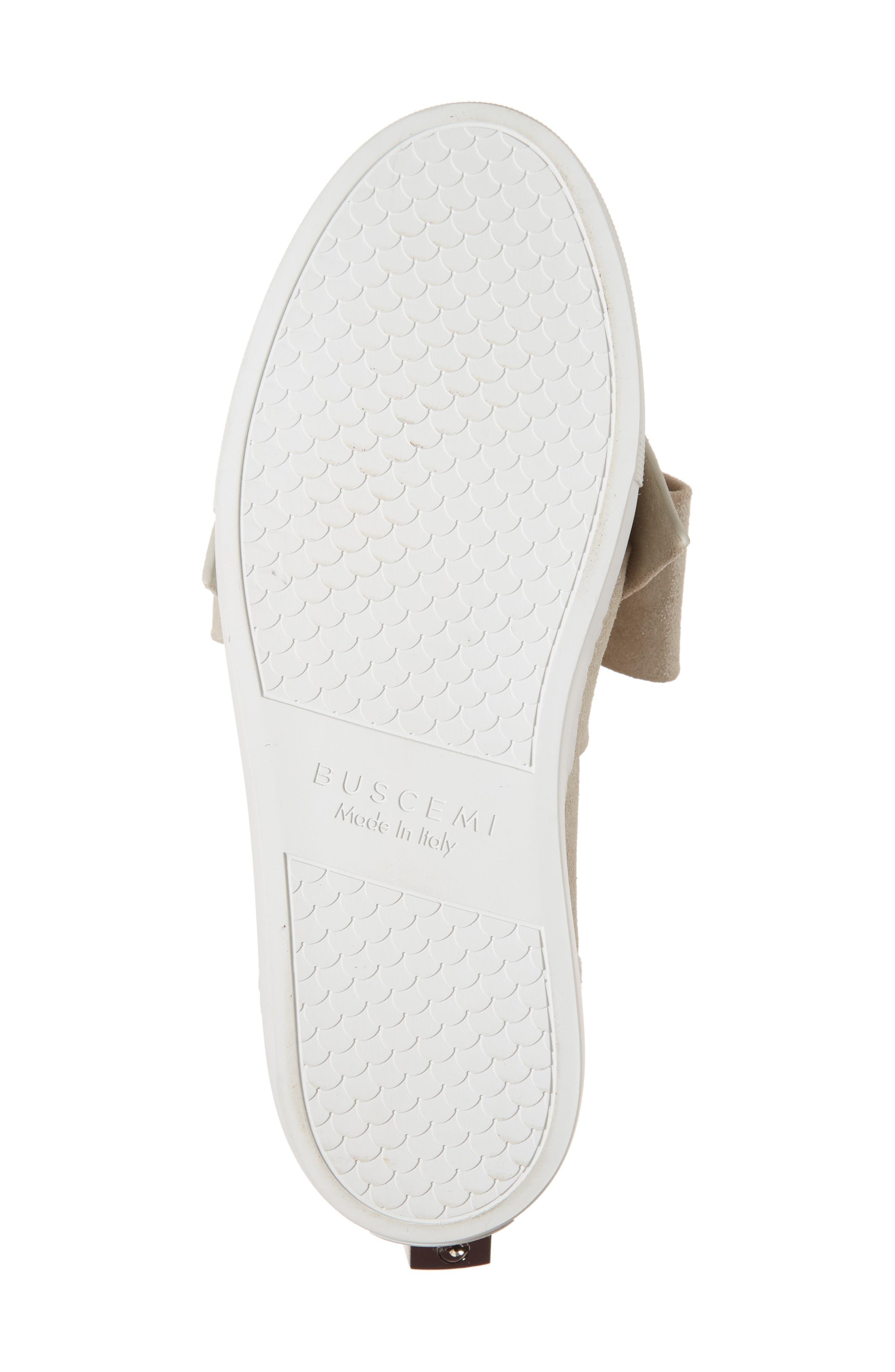 Bow Slip-On Sneaker,                             Alternate thumbnail 6, color,                             Gleam Grey