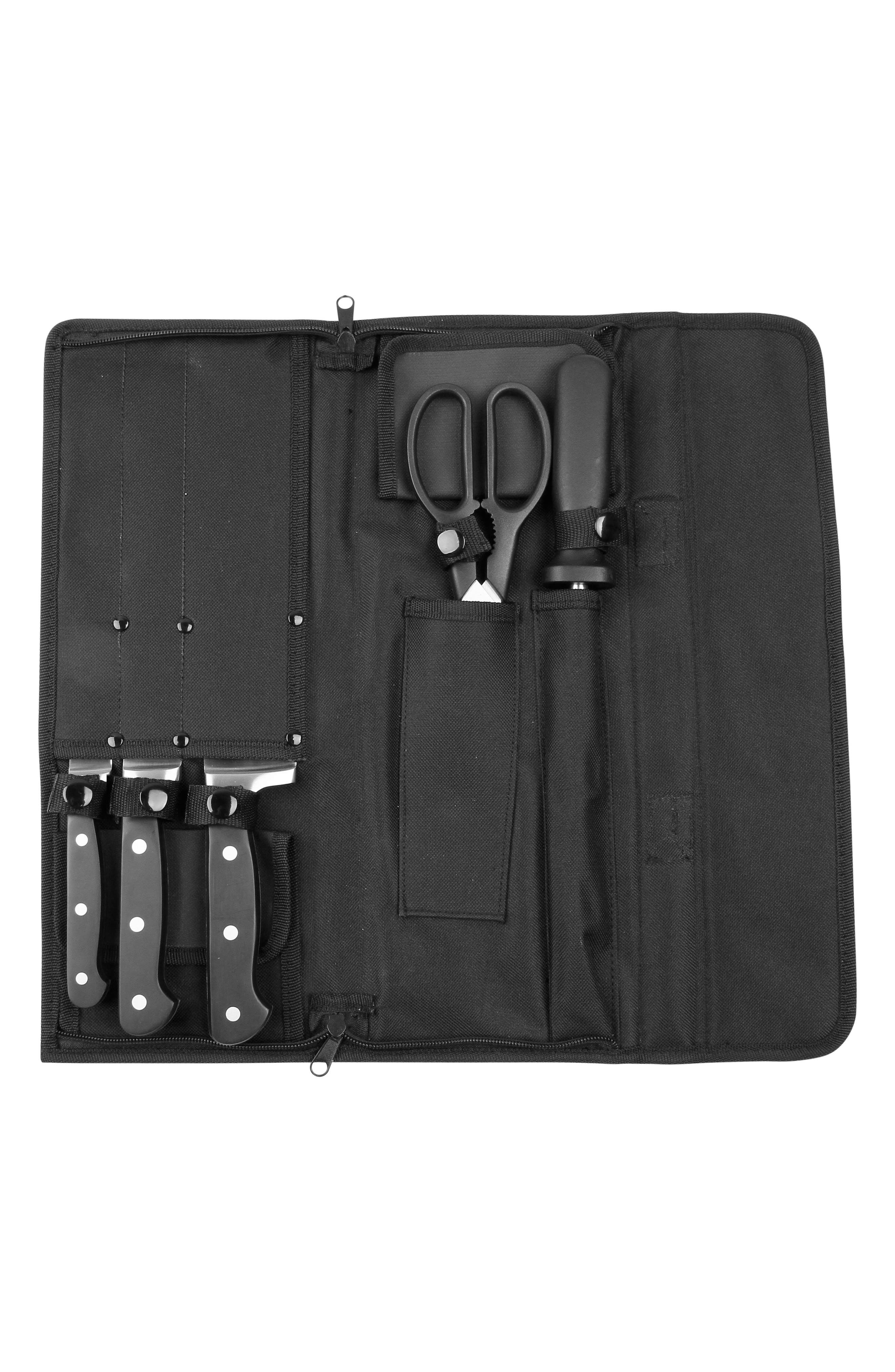 Alternate Image 3  - TOP CHEF 6-Piece Carry Along Knife Set