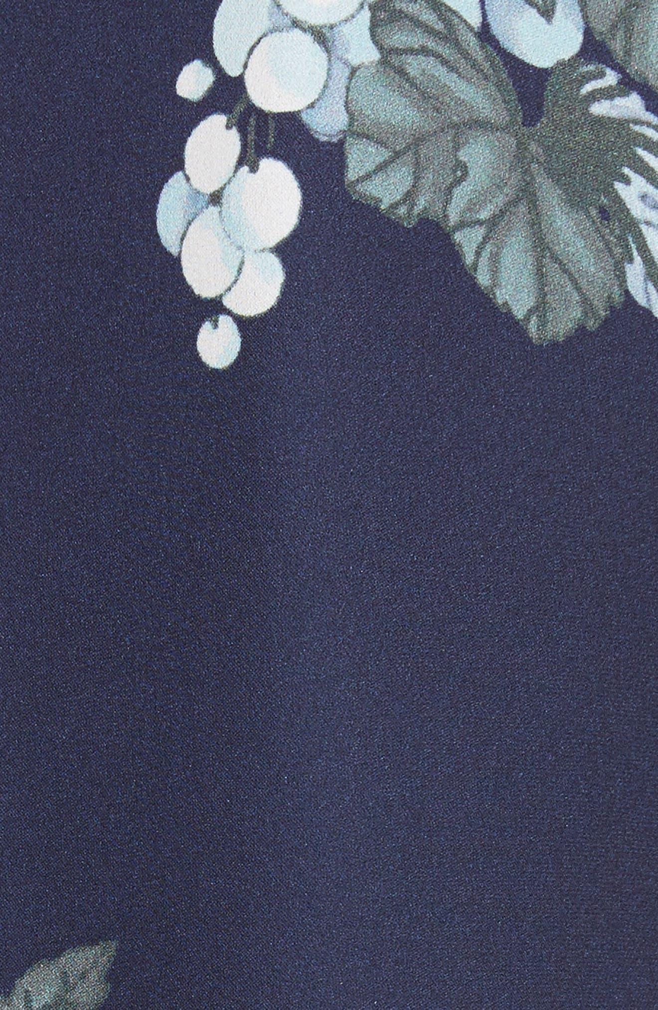 Alternate Image 5  - Joie Amaranda Print Silk Shirtdress