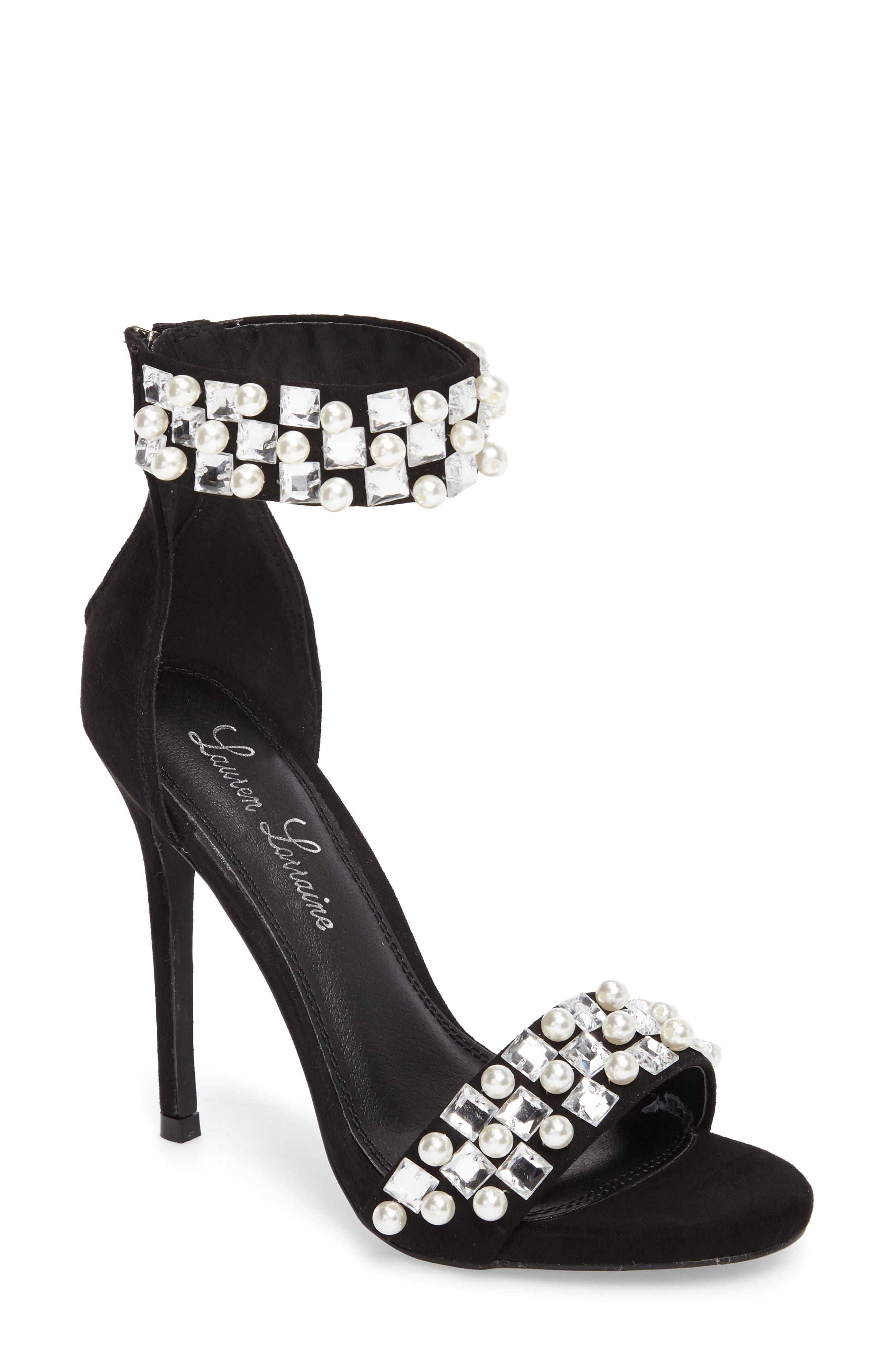 Lauren Lorraine Sizzle Embellished Sandal (Women)
