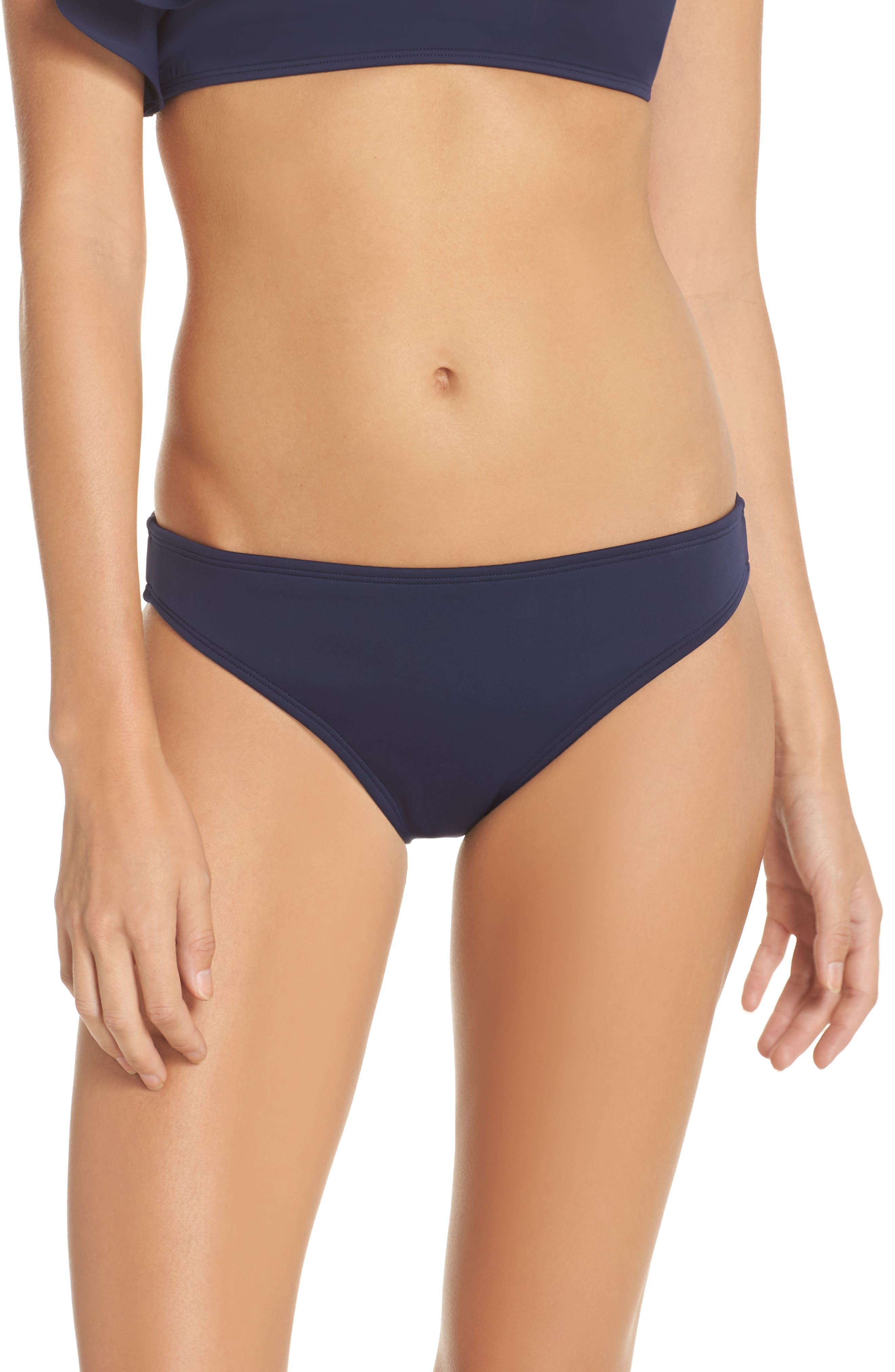 Scuba Classic Bikini Bottoms,                         Main,                         color, Navy