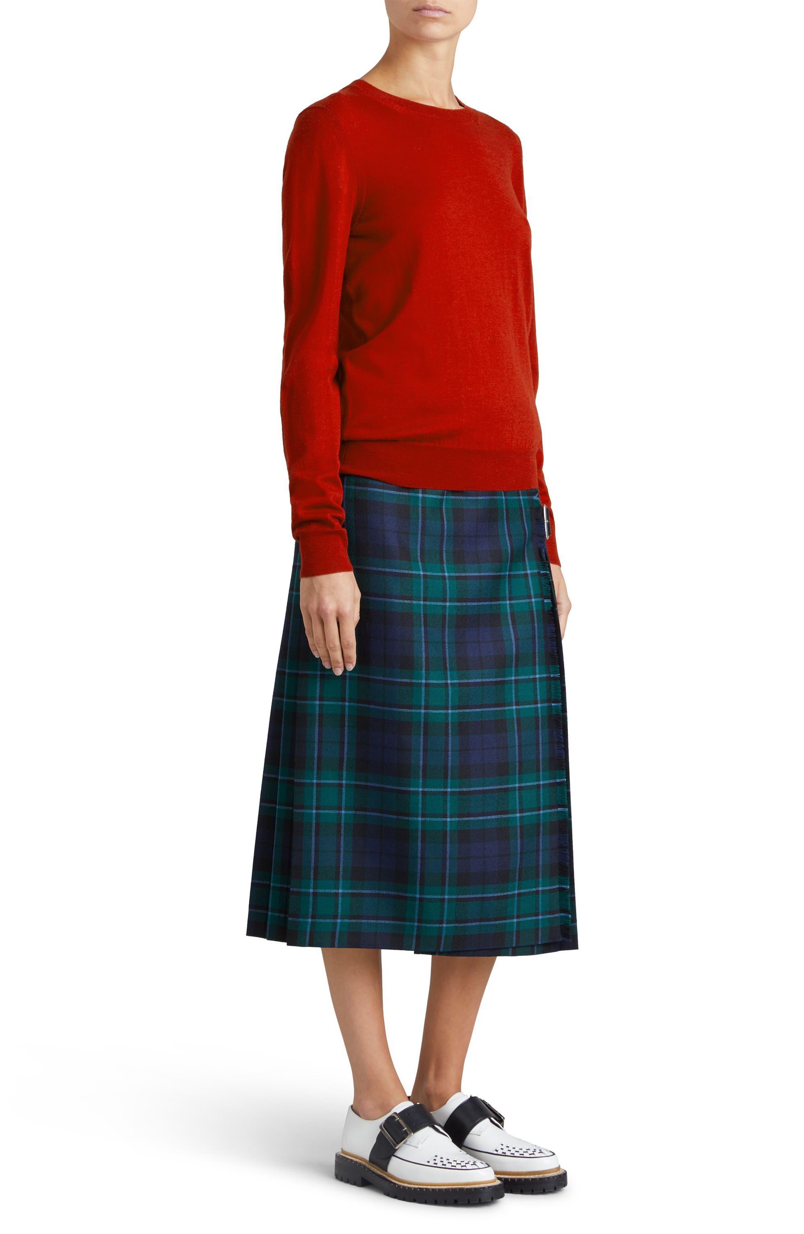 Alternate Image 6  - Burberry Viar Merino Wool Sweater