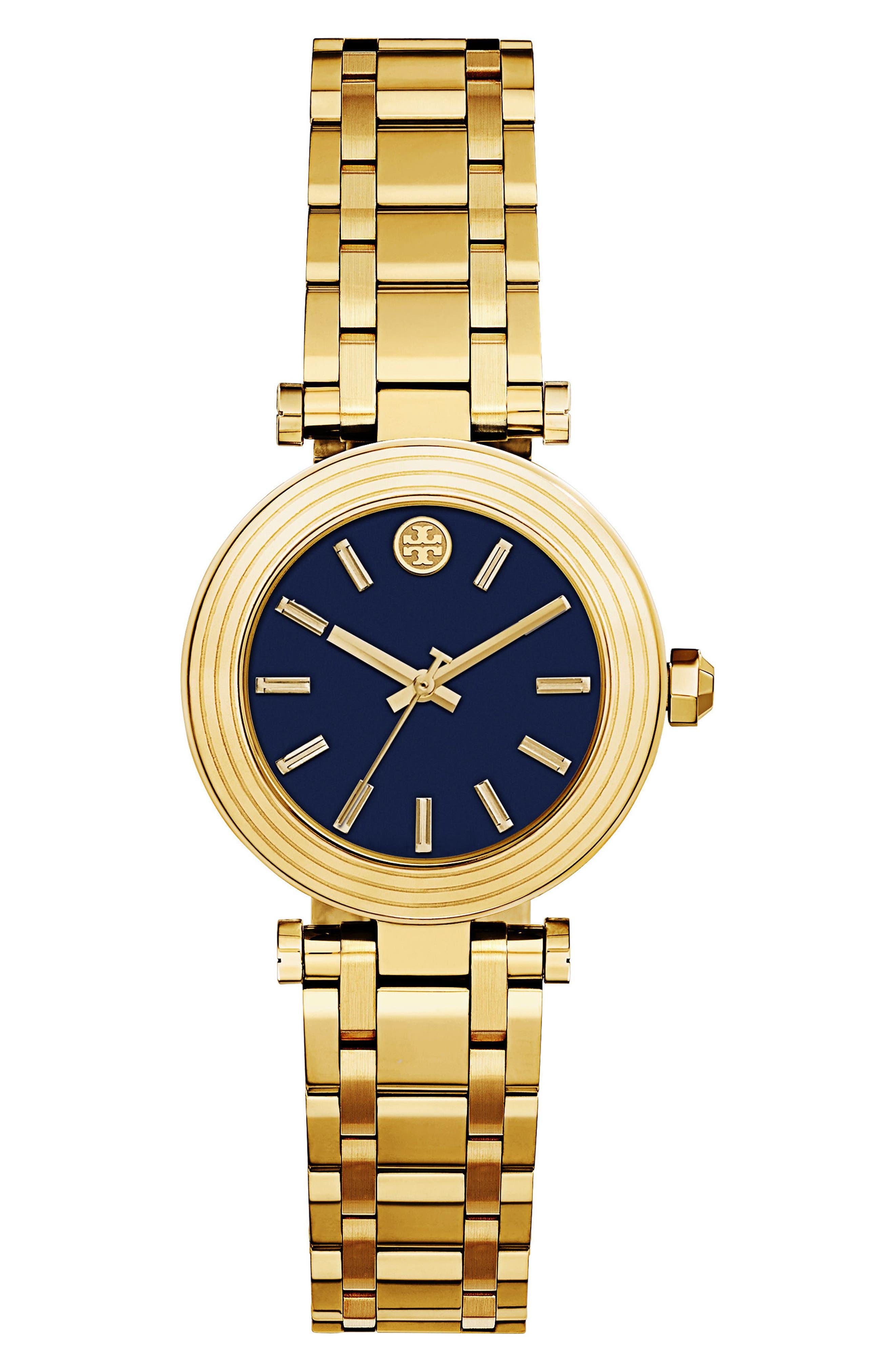 Tory Burch Classic-T Bracelet Watch, 30mm