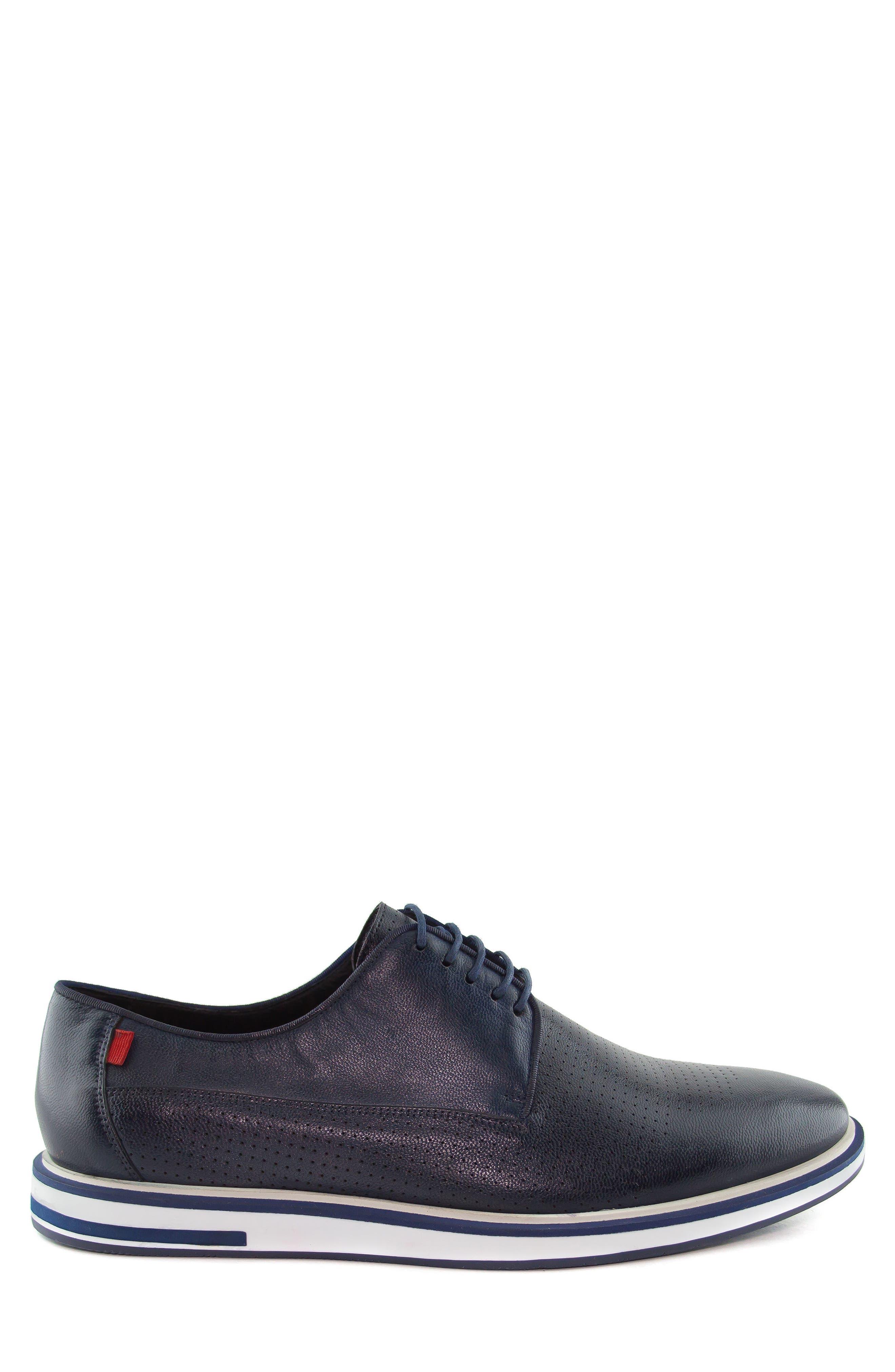 Manhattan Sneaker,                             Alternate thumbnail 3, color,                             Navy