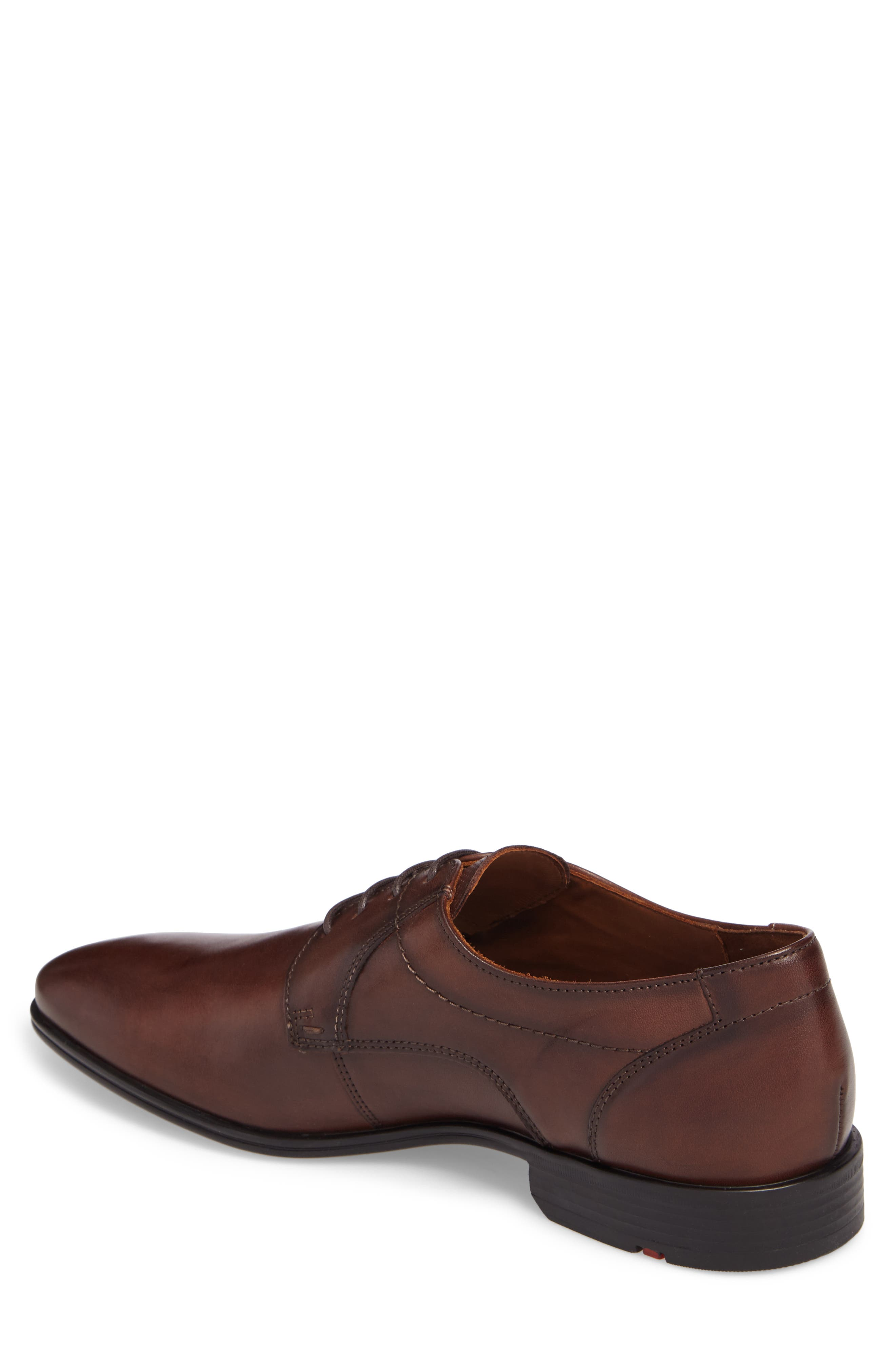Osmond Plain Toe Derby,                             Alternate thumbnail 2, color,                             T.D.Moro Leather