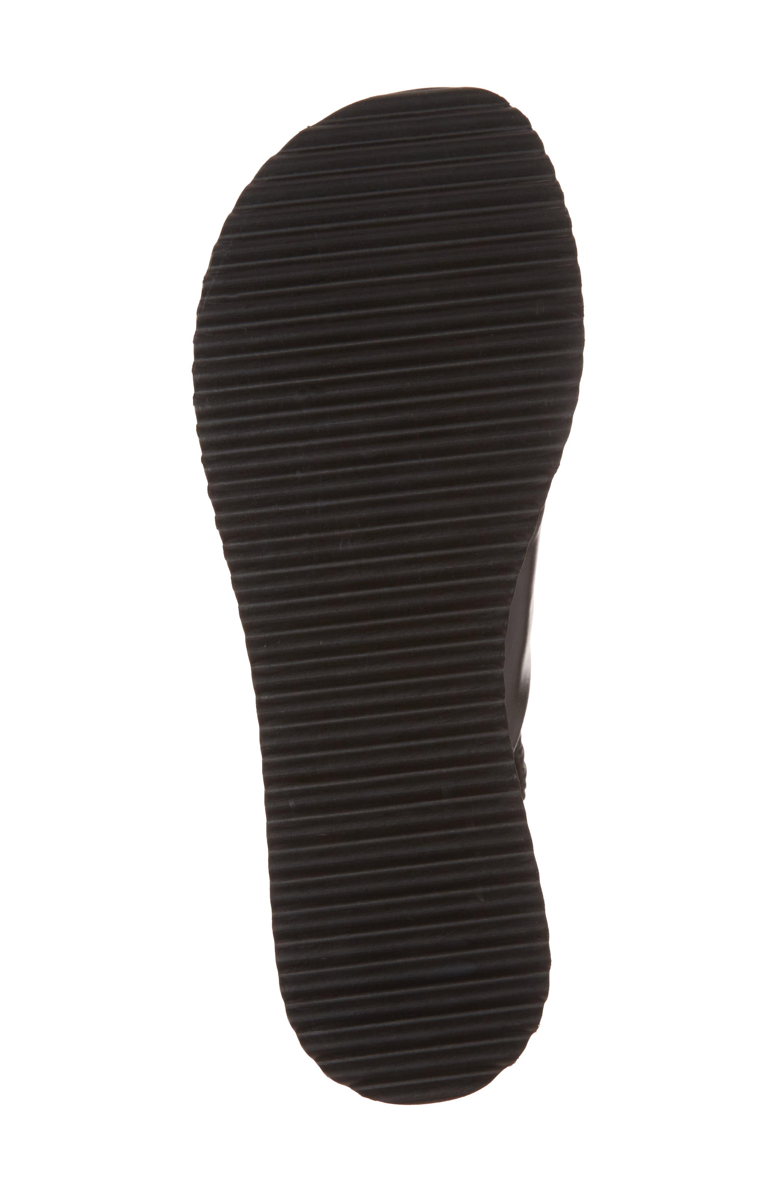 Omin Platform Slingback Sandal,                             Alternate thumbnail 6, color,                             Black