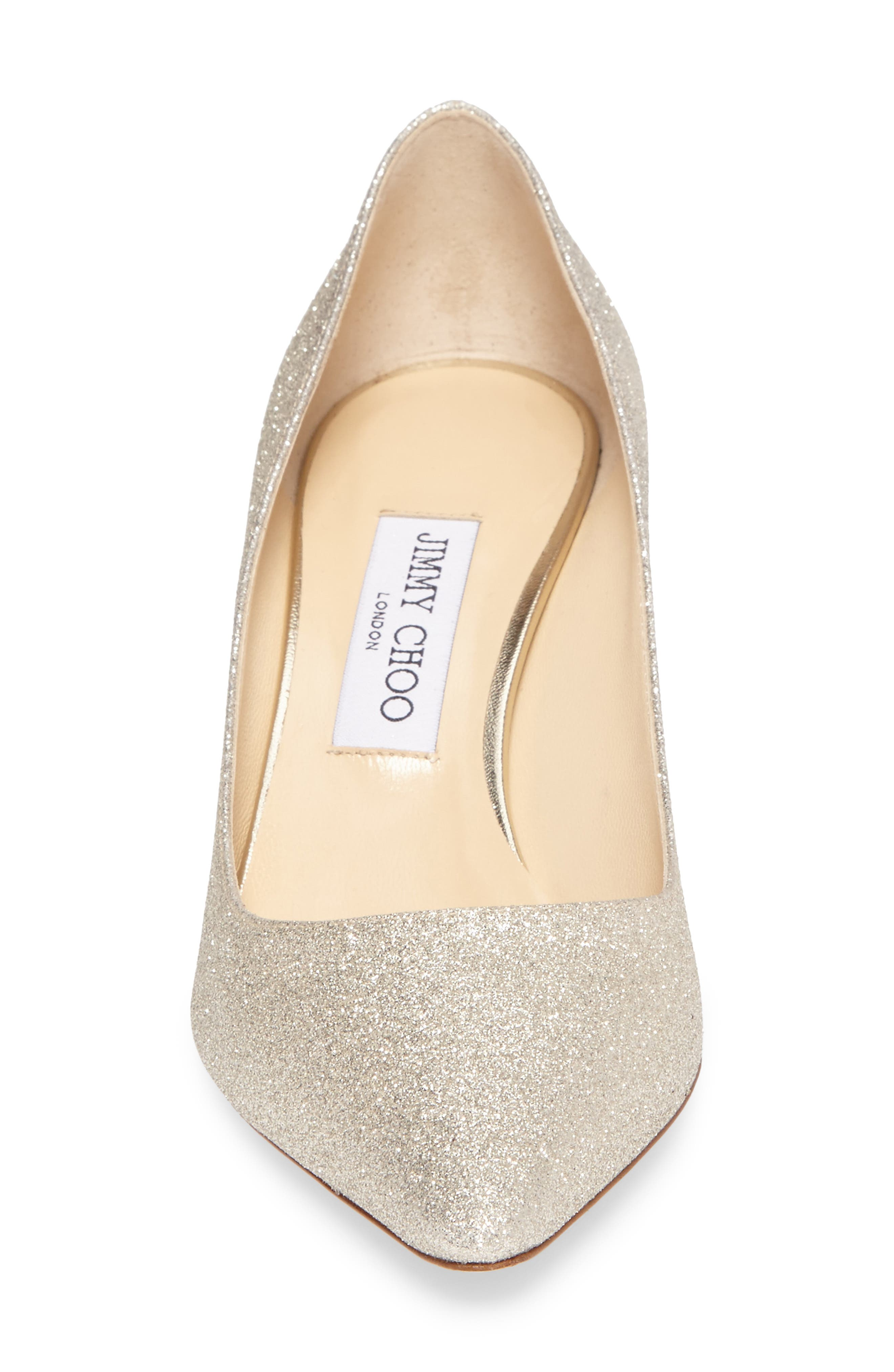 Alternate Image 4  - Jimmy Choo Romy Glitter Pump (Women)
