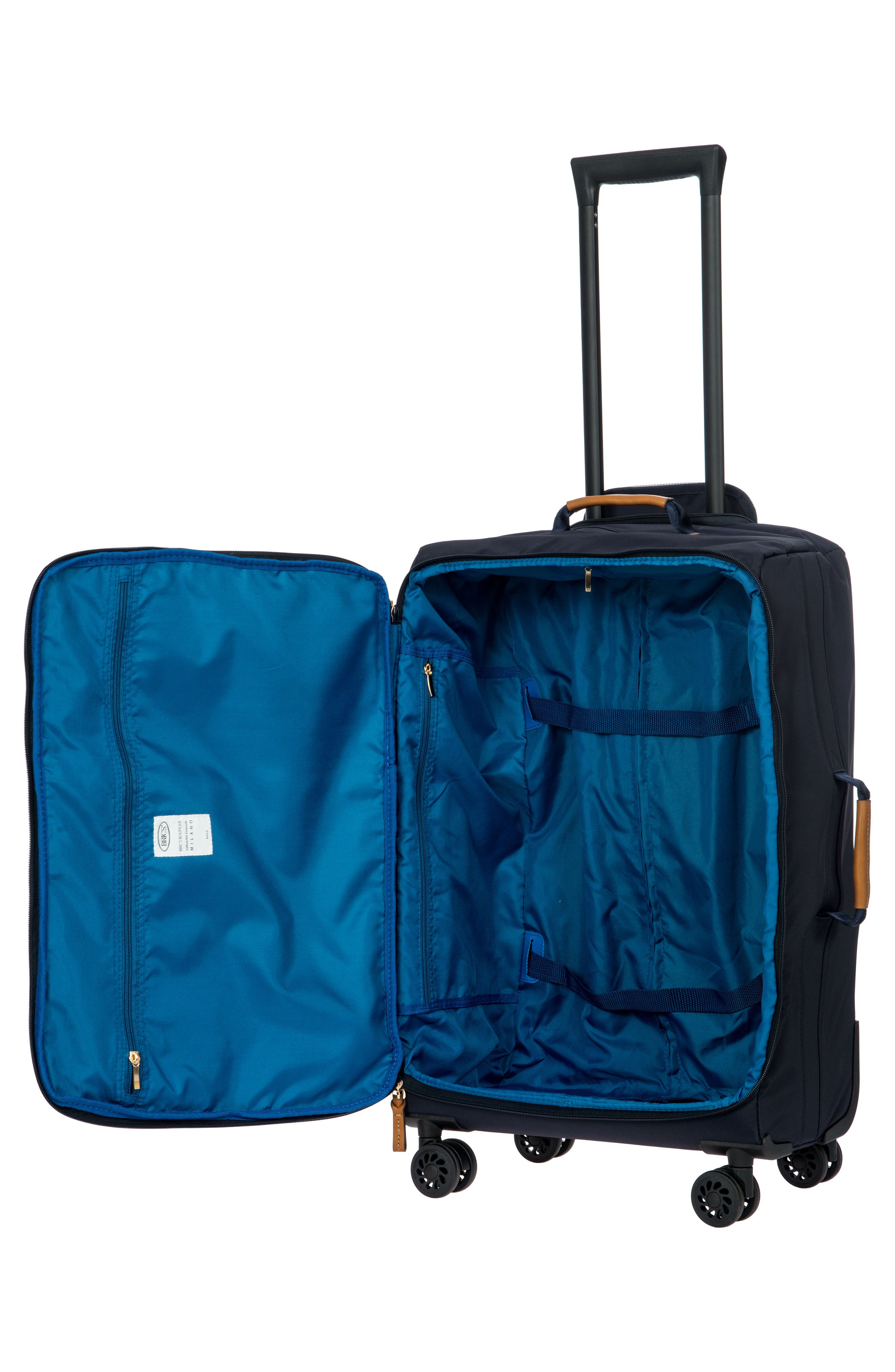 X-Bag 25-Inch Spinner Suitcase,                             Alternate thumbnail 5, color,                             Navy