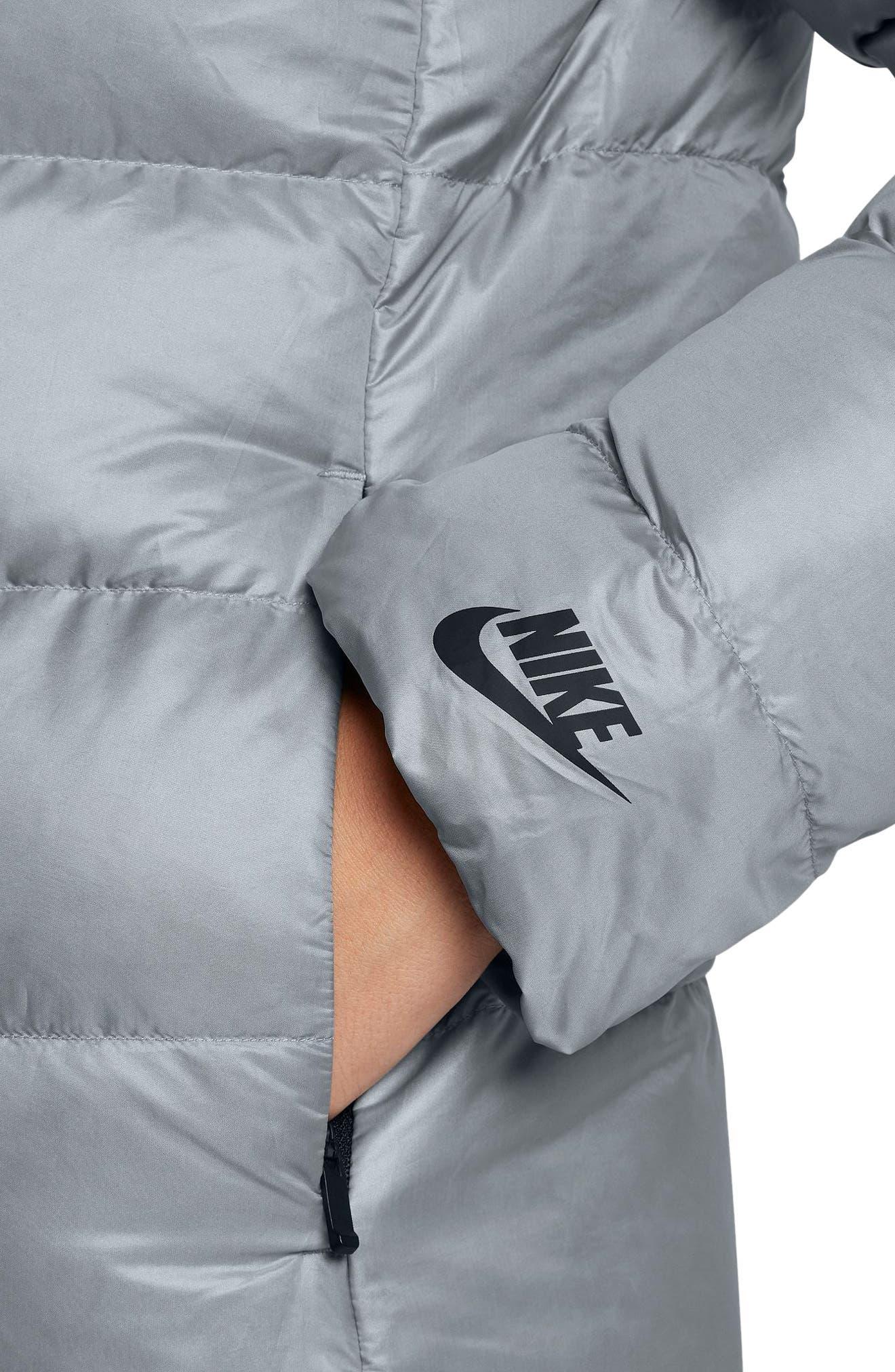 Alternate Image 6  - Nike Sportswear Women's Hooded Down Jacket