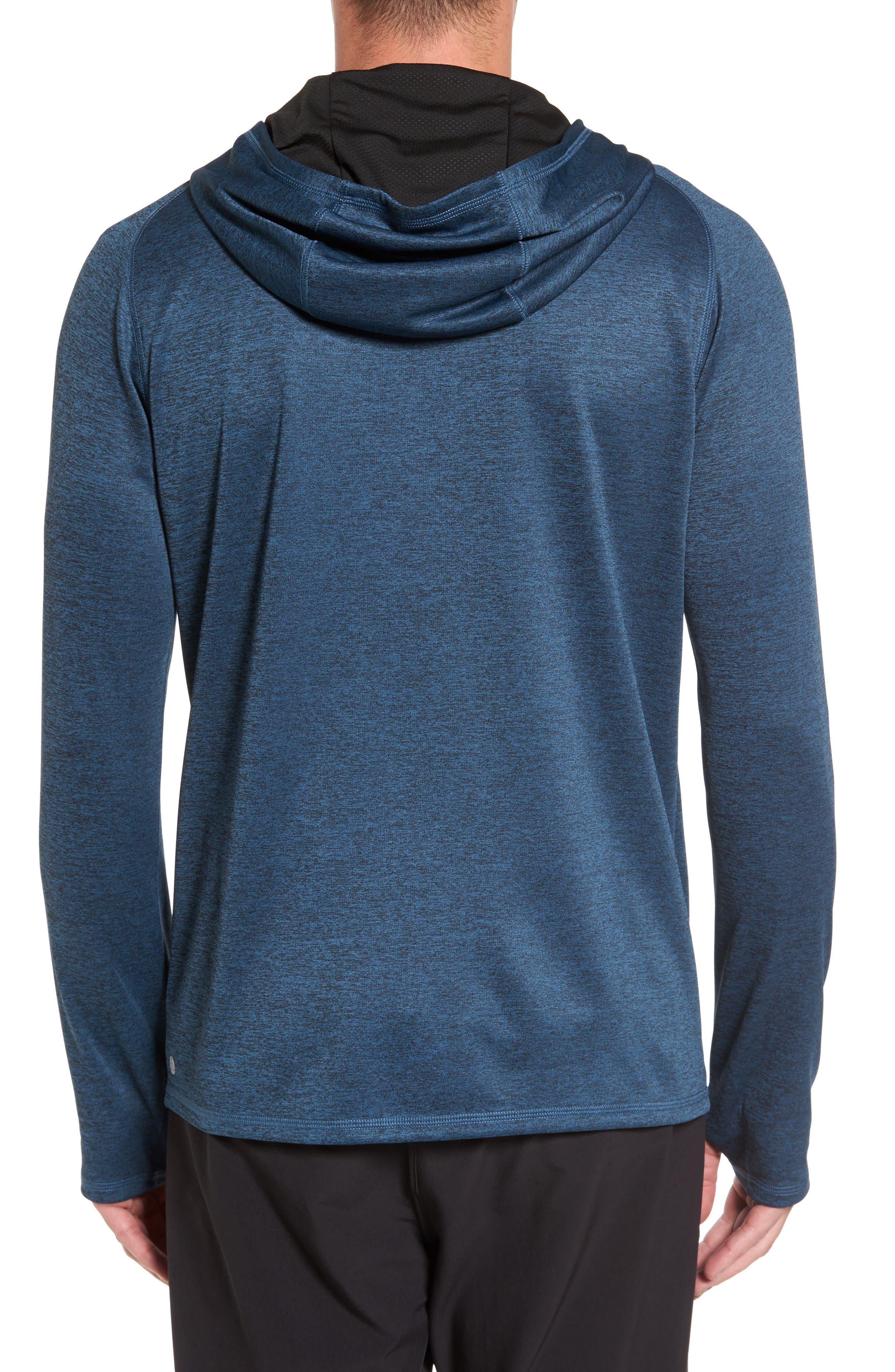 Lightweight Pullover Hoodie,                             Alternate thumbnail 2, color,                             Blue Chrome Melange