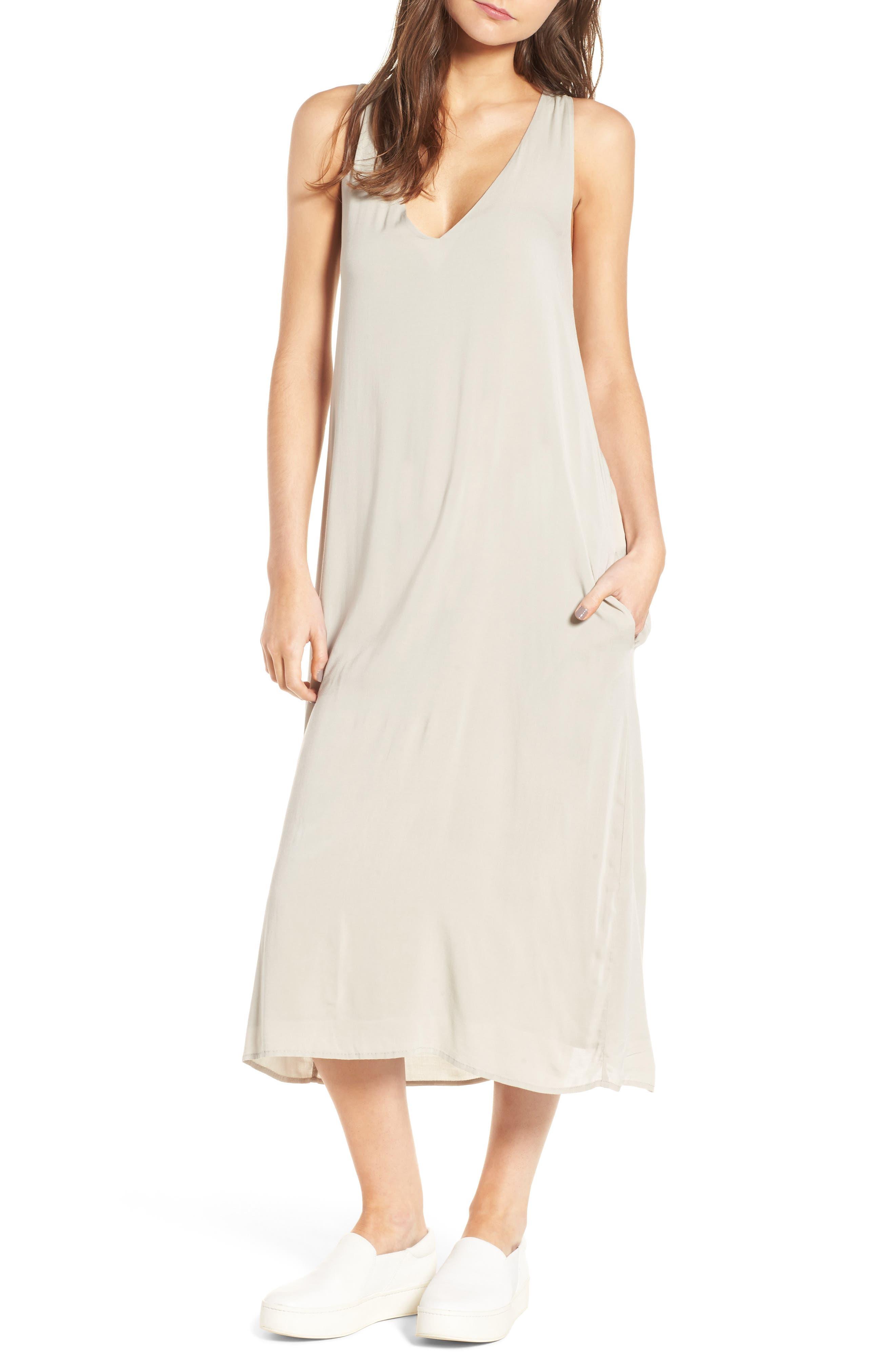 James Perse Twist Back Dress