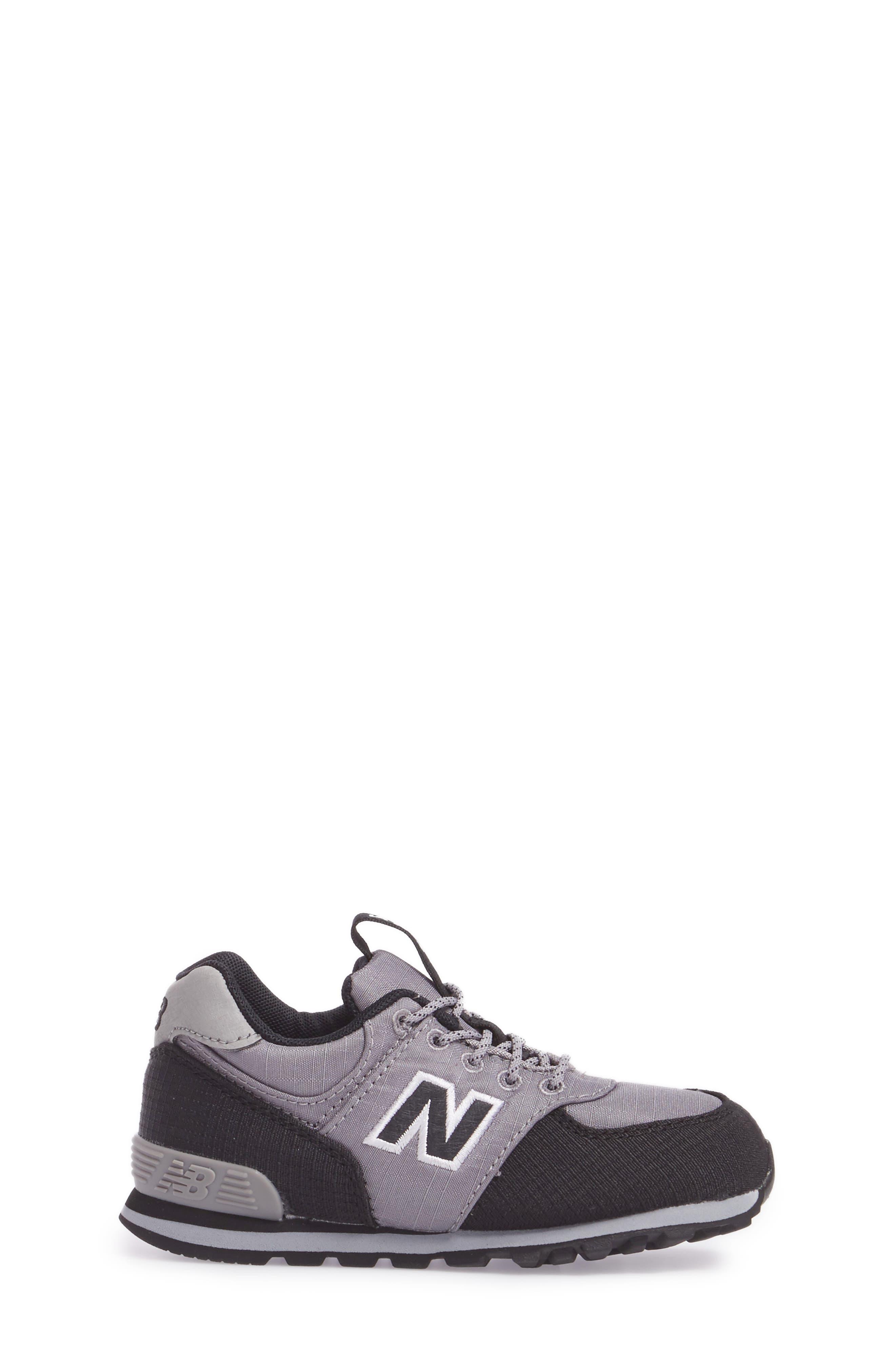 574 Sneaker,                             Alternate thumbnail 3, color,                             Grey