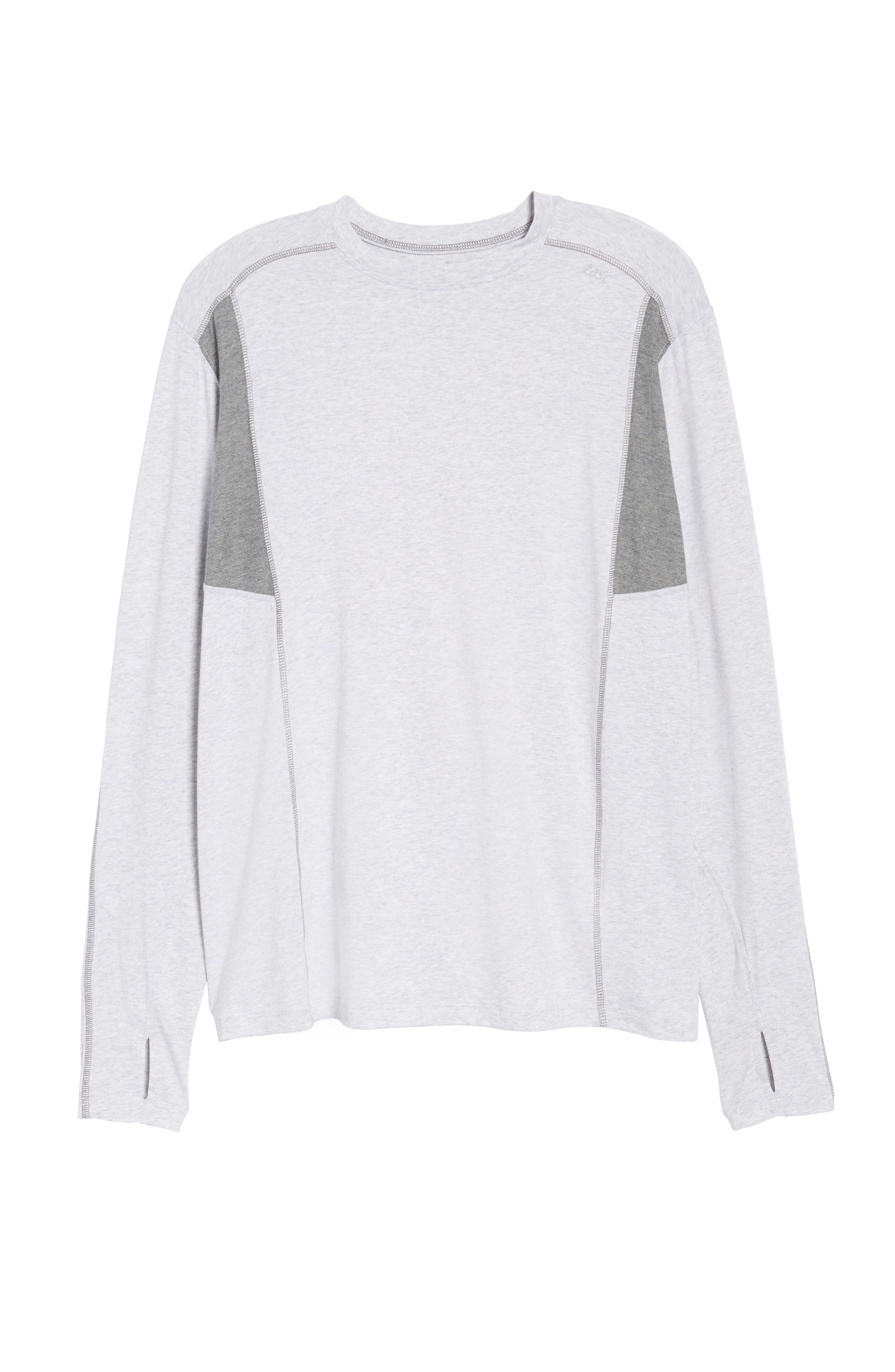 Charge Sweatshirt,                             Alternate thumbnail 6, color,                             Light Heather Gray