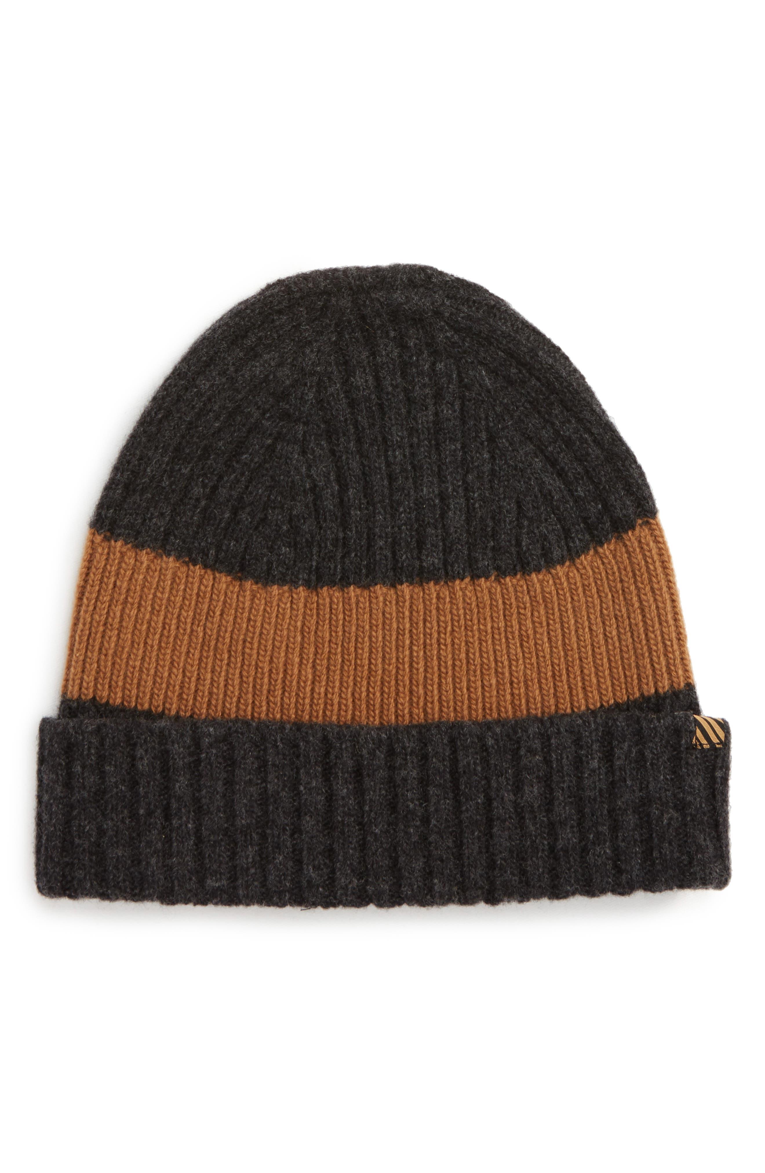 Billy Reid Stripe Wool Beanie