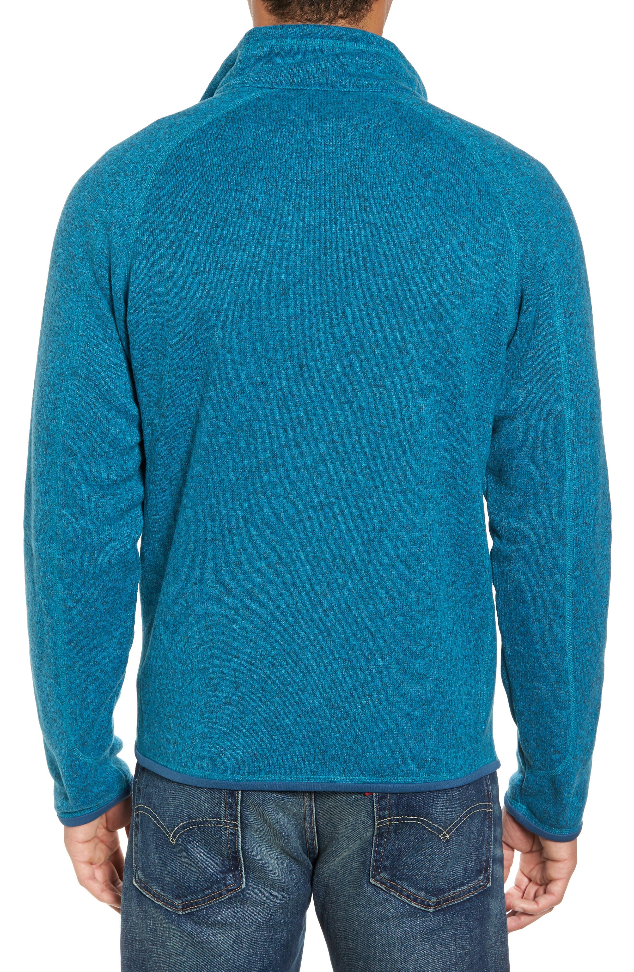 Better Sweater Zip Front Jacket,                             Alternate thumbnail 2, color,                             Filter Blue