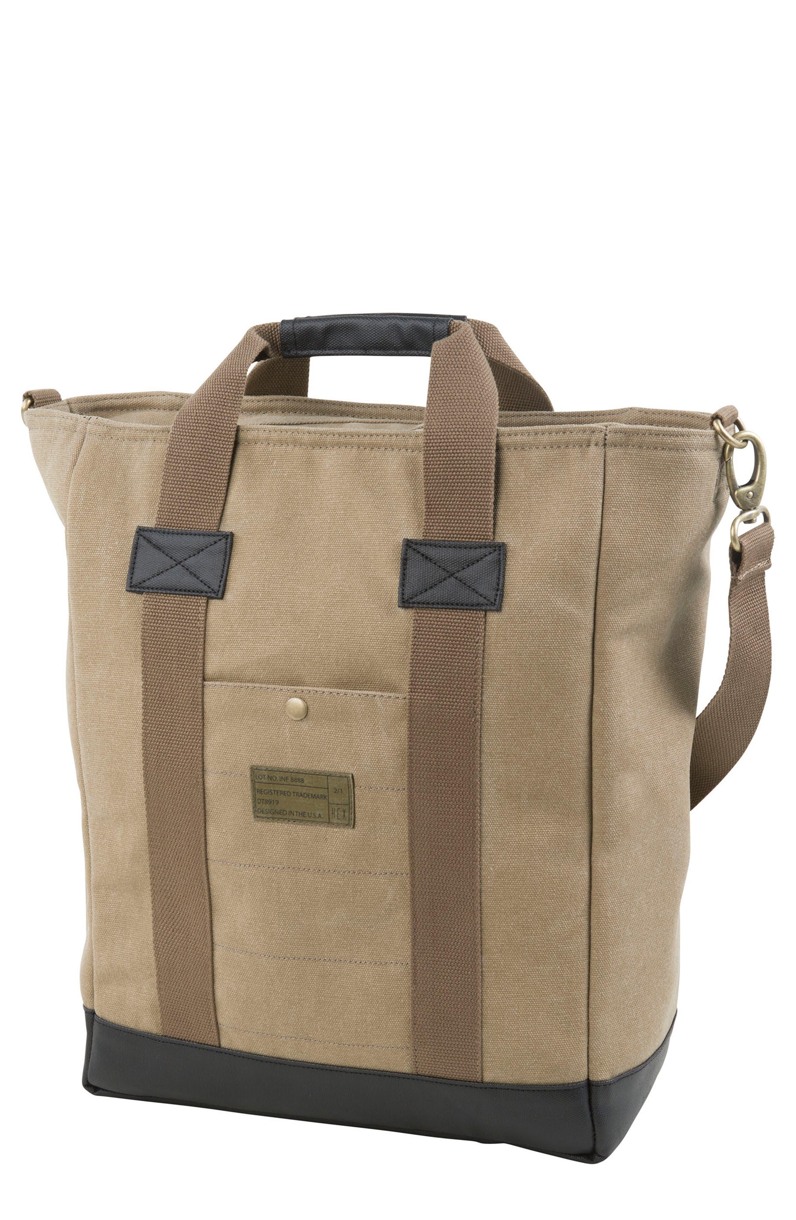 HEX Canvas Tote Bag