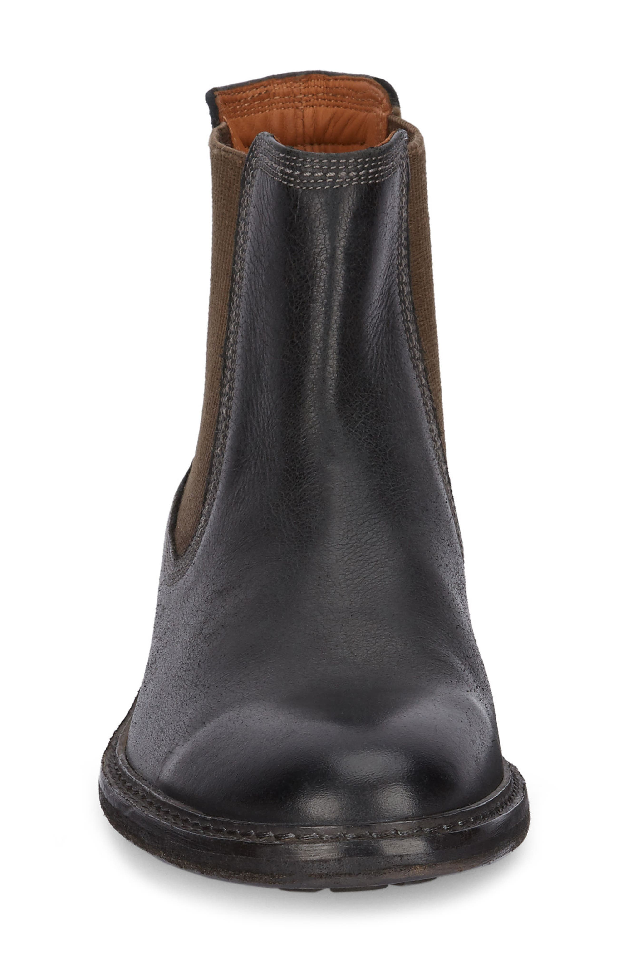 Hendrick Chelsea Boot,                             Alternate thumbnail 4, color,                             Black