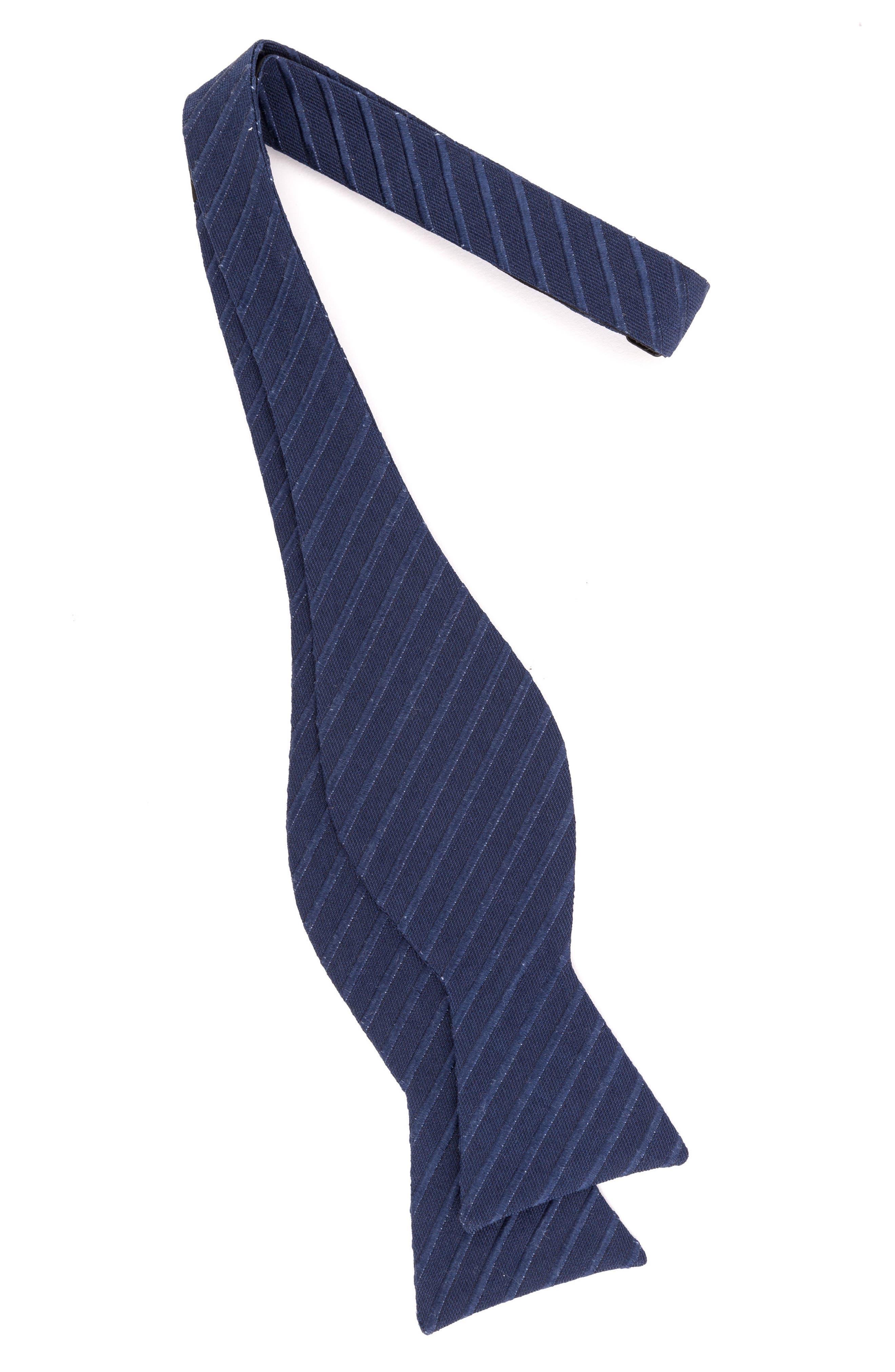 Alternate Image 2  - Ted Baker London Indigo Wardrobe Silk Bow Tie