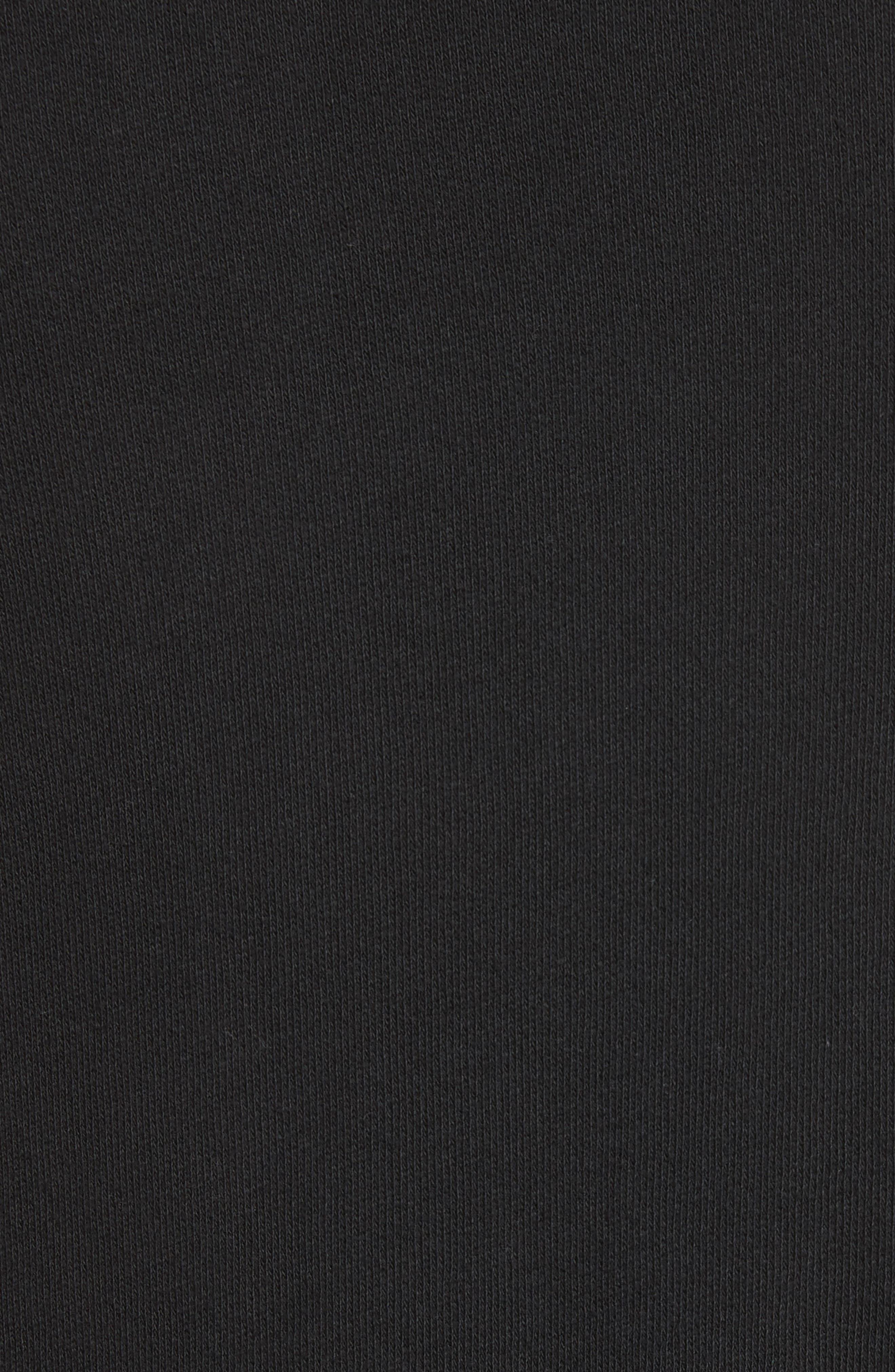 Battle Punk Graphic Sweatshirt,                             Alternate thumbnail 5, color,                             Black
