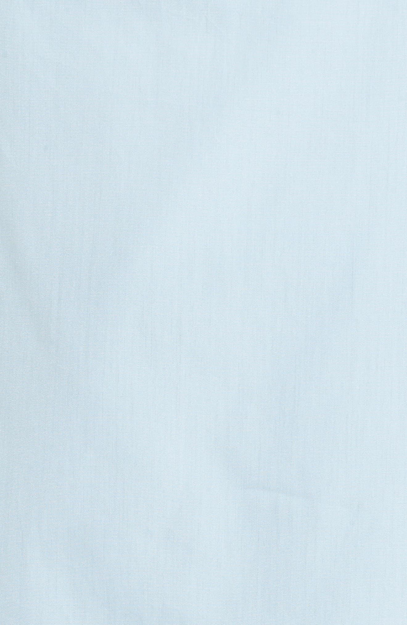 Alternate Image 5  - Lewit Ruched Sleeve Poplin Blouse