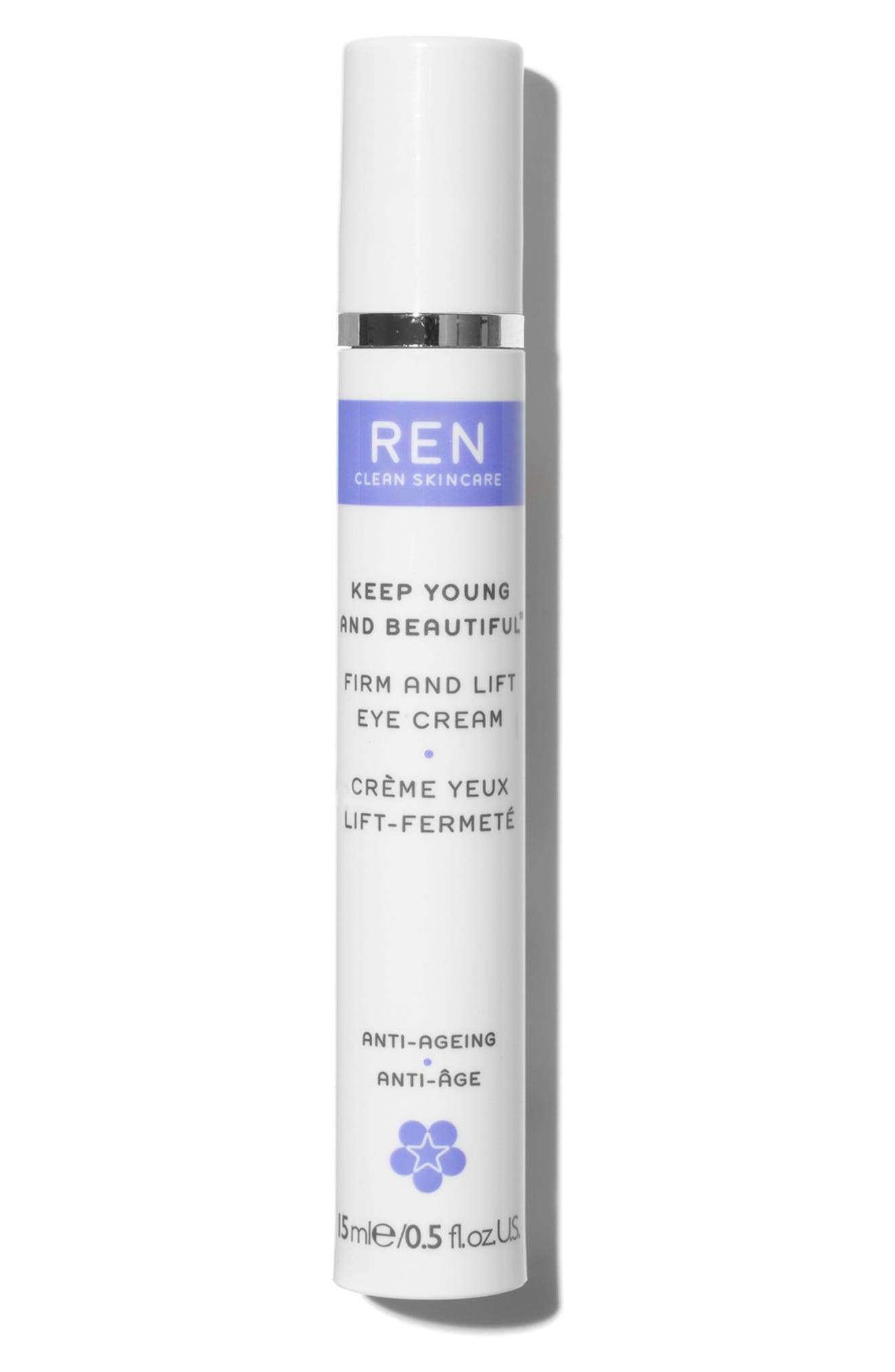 SPACE.NK.apothecary REN Keep Young & Beautiful Anti-Ageing Eye Cream,                             Main thumbnail 4, color,                             No Color