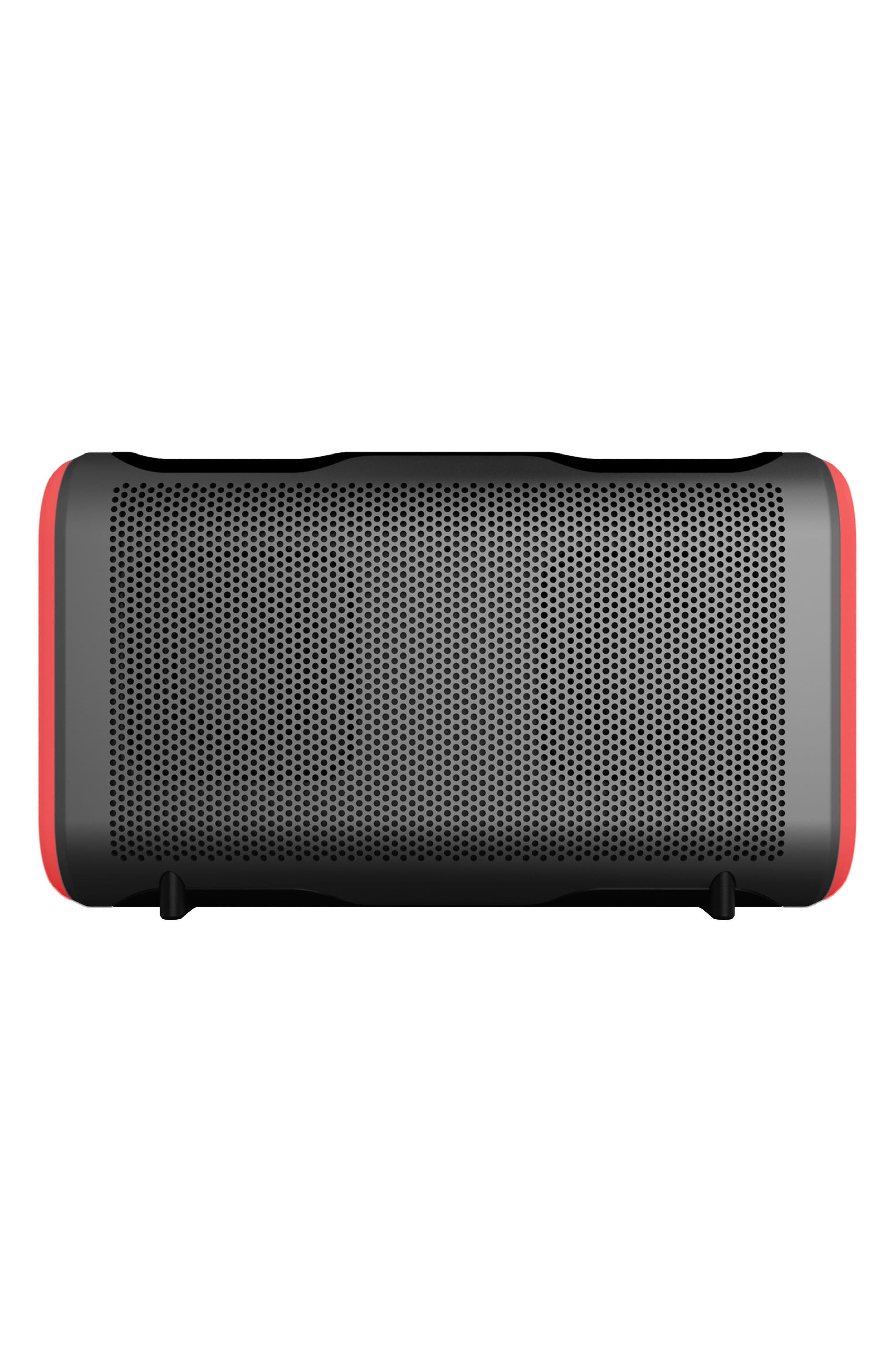 Stryde XL Portable Waterproof Bluetooth Speaker,                         Main,                         color, Grey/ Red